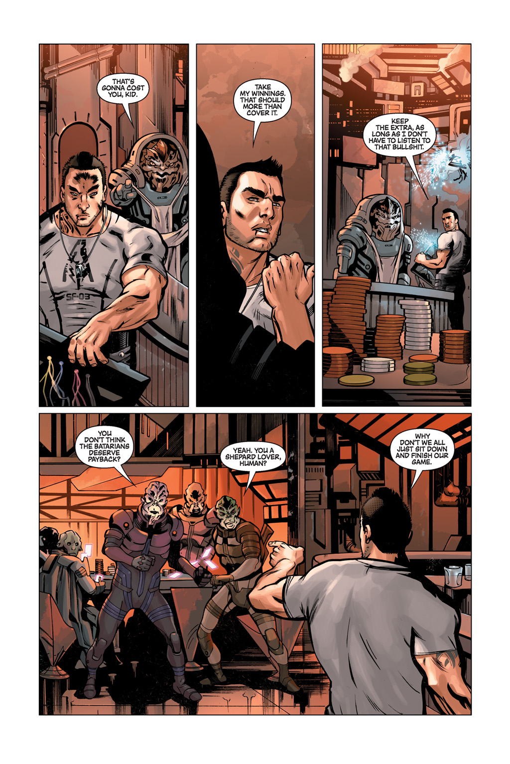 Read online Mass Effect: Conviction comic -  Issue # Full - 4