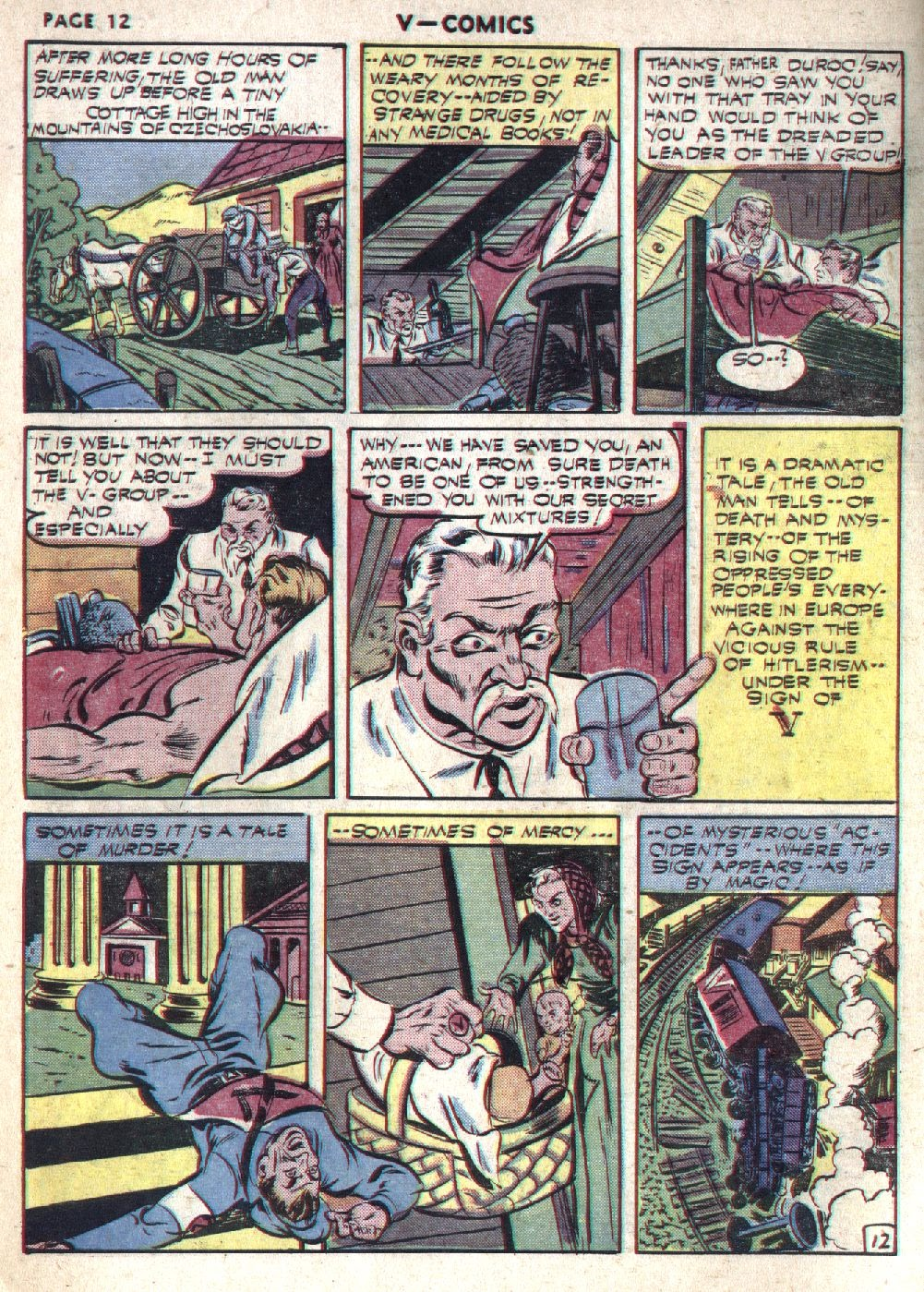 Read online V...- Comics comic -  Issue #1 - 14