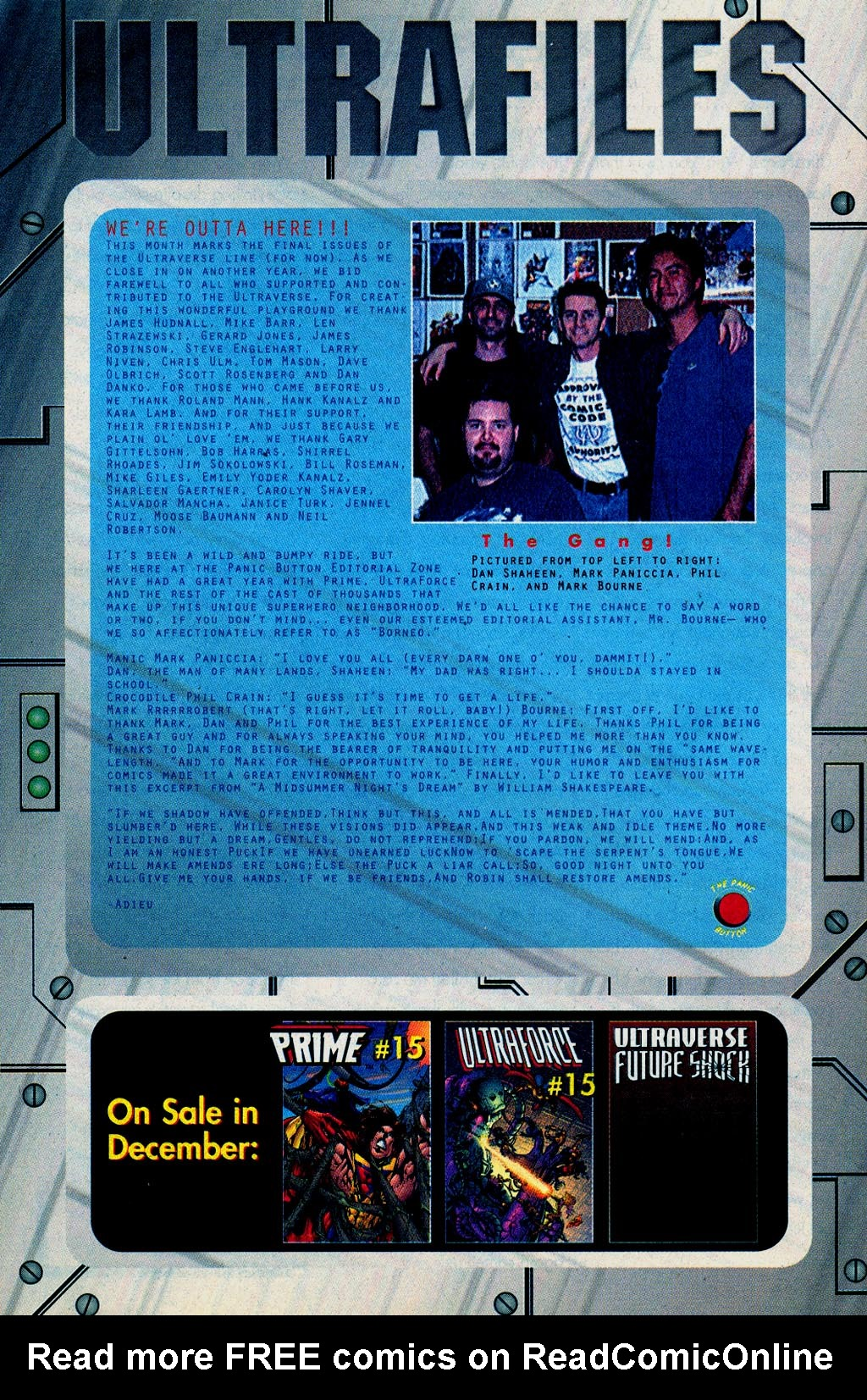 Read online UltraForce (1995) comic -  Issue #15 - 26