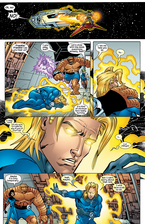 Read online Fantastic Five (2007) comic -  Issue #4 - 17