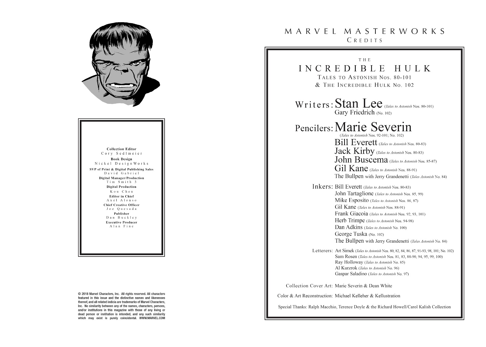 Read online Marvel Masterworks: The Incredible Hulk comic -  Issue # TPB 3 (Part 1) - 3