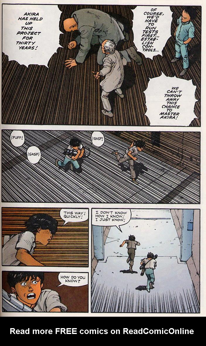 Read online Akira comic -  Issue #8 - 45