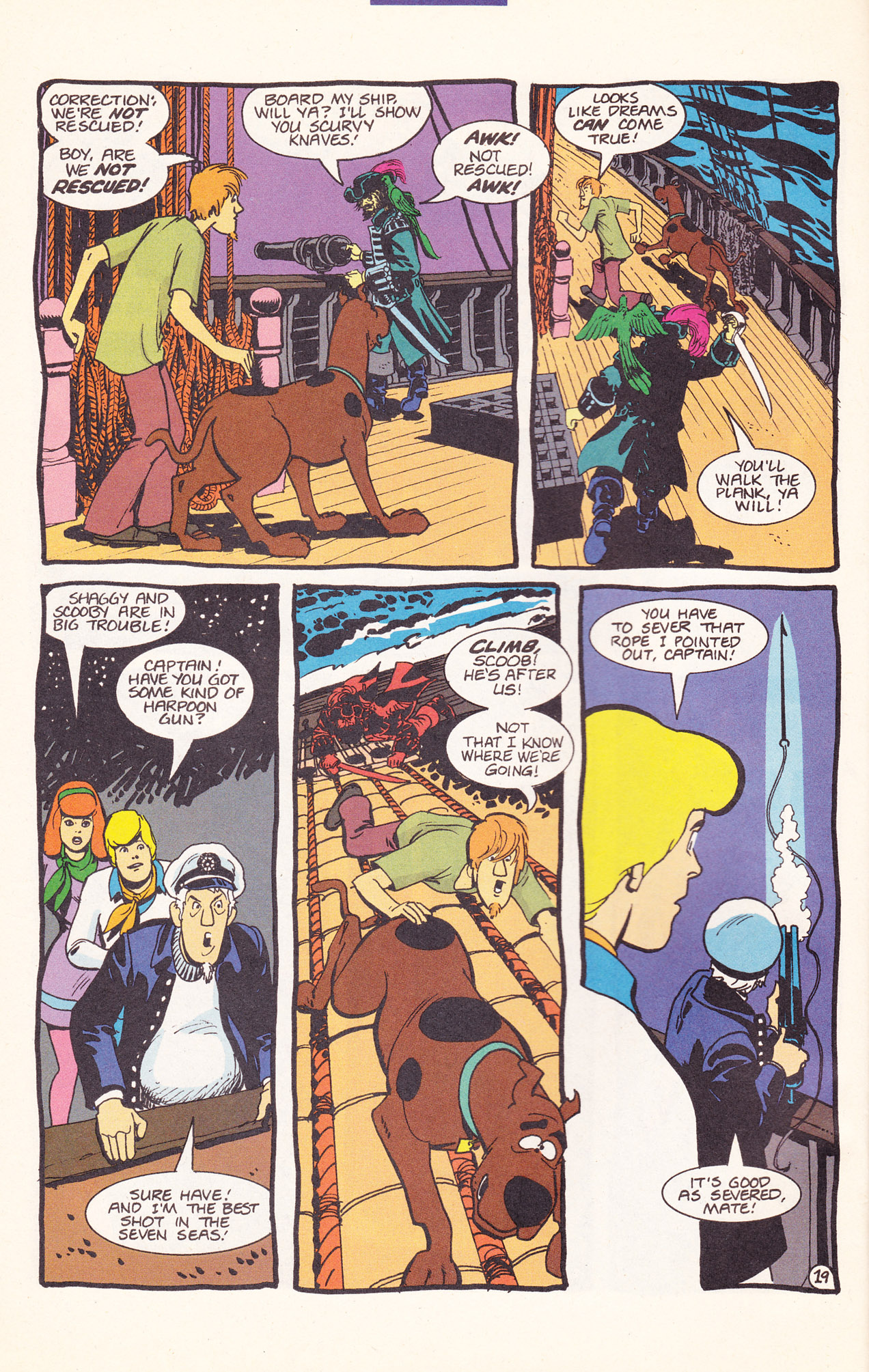 Read online Scooby-Doo (1995) comic -  Issue #17 - 30