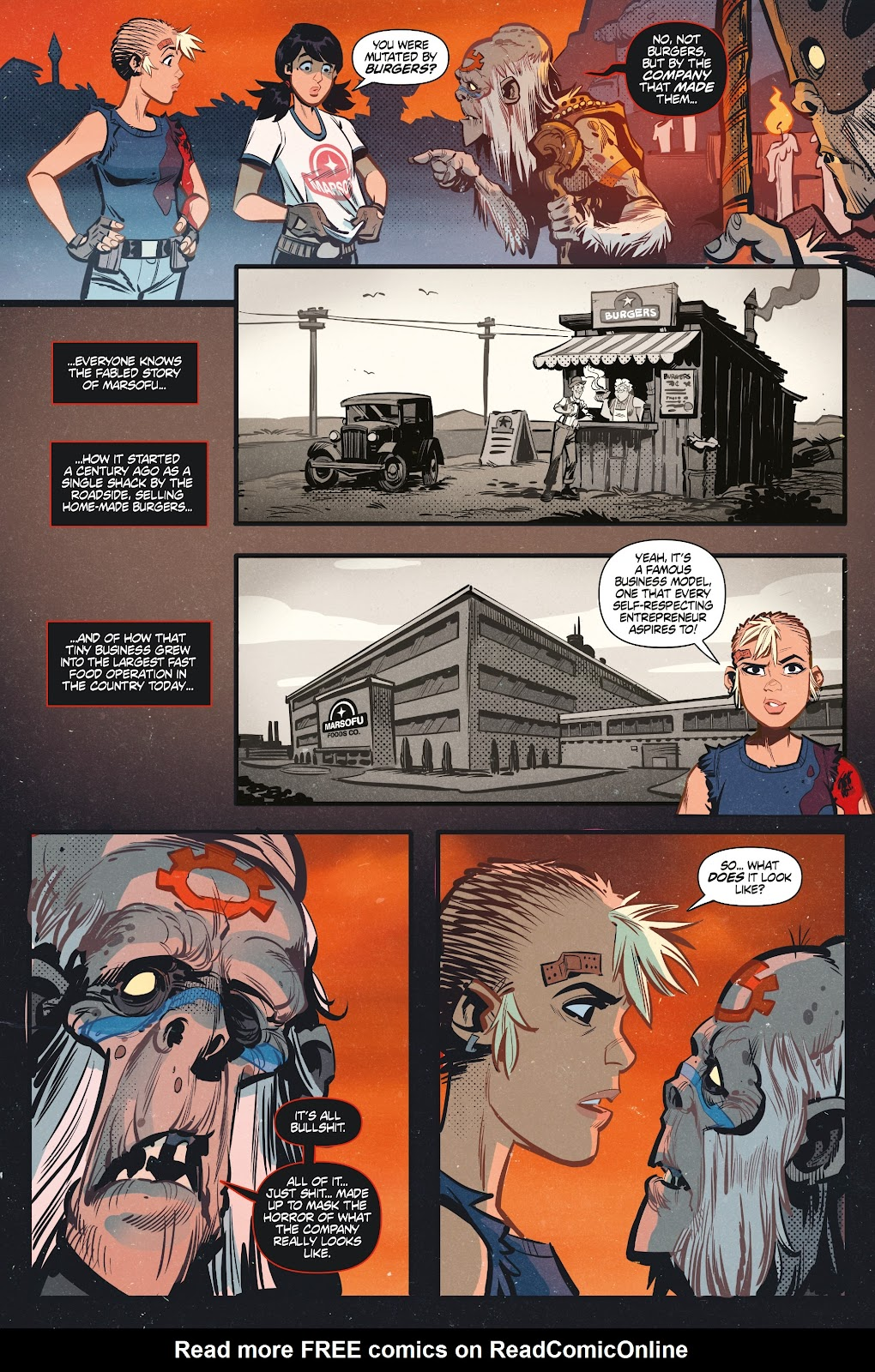 Read online Tank Girl Ongoing comic -  Issue #3 - 12