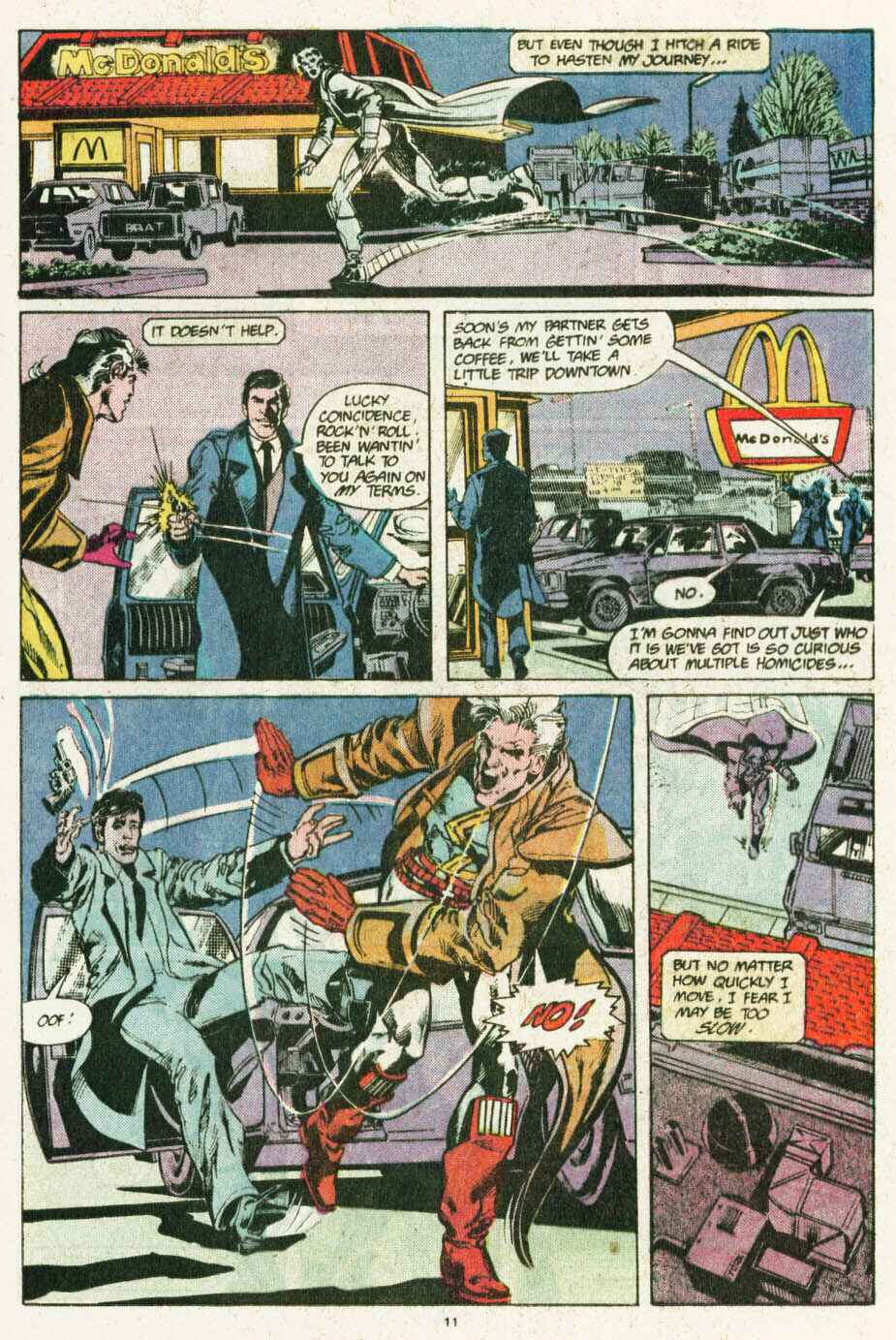 Read online Justice (1986) comic -  Issue #12 - 12