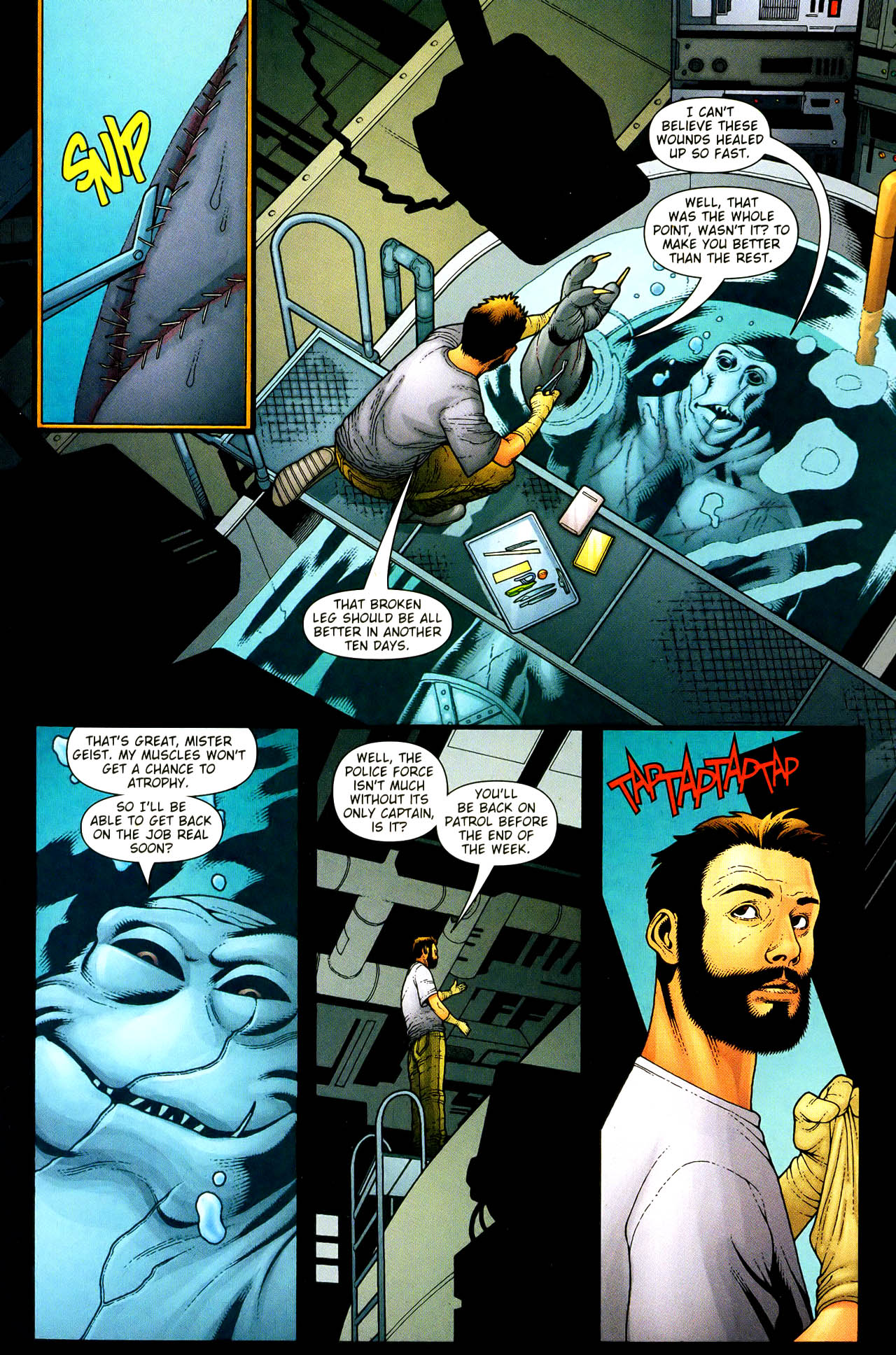 Read online Aquaman (2003) comic -  Issue #33 - 8