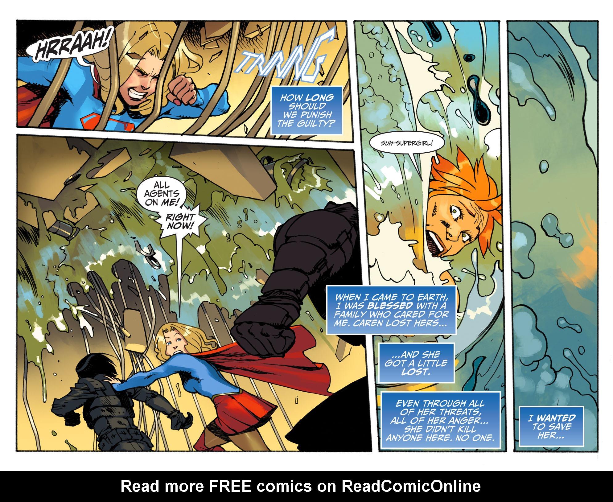 Read online Adventures of Supergirl comic -  Issue #3 - 20