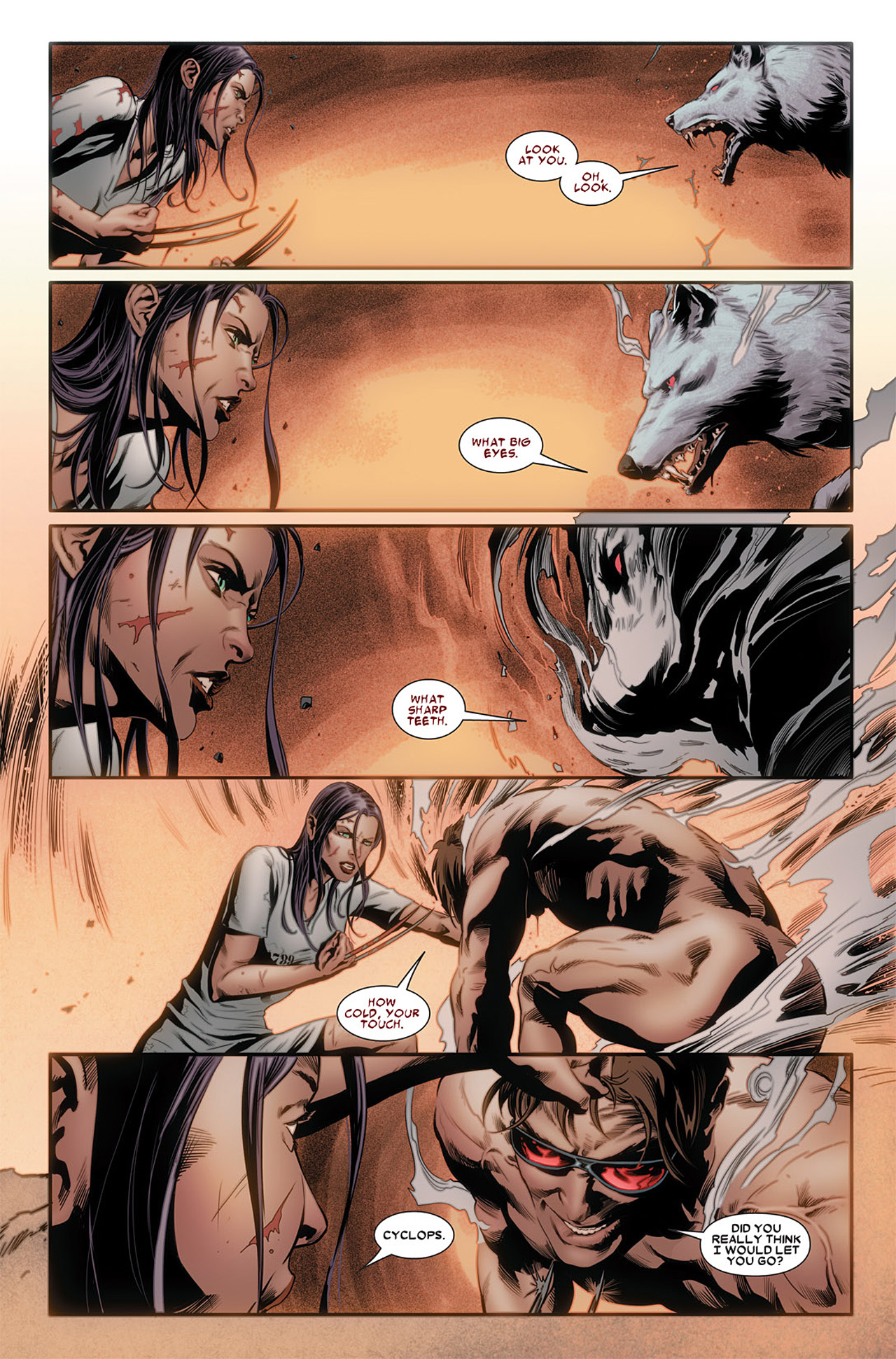 Read online X-23 (2010) comic -  Issue #3 - 6