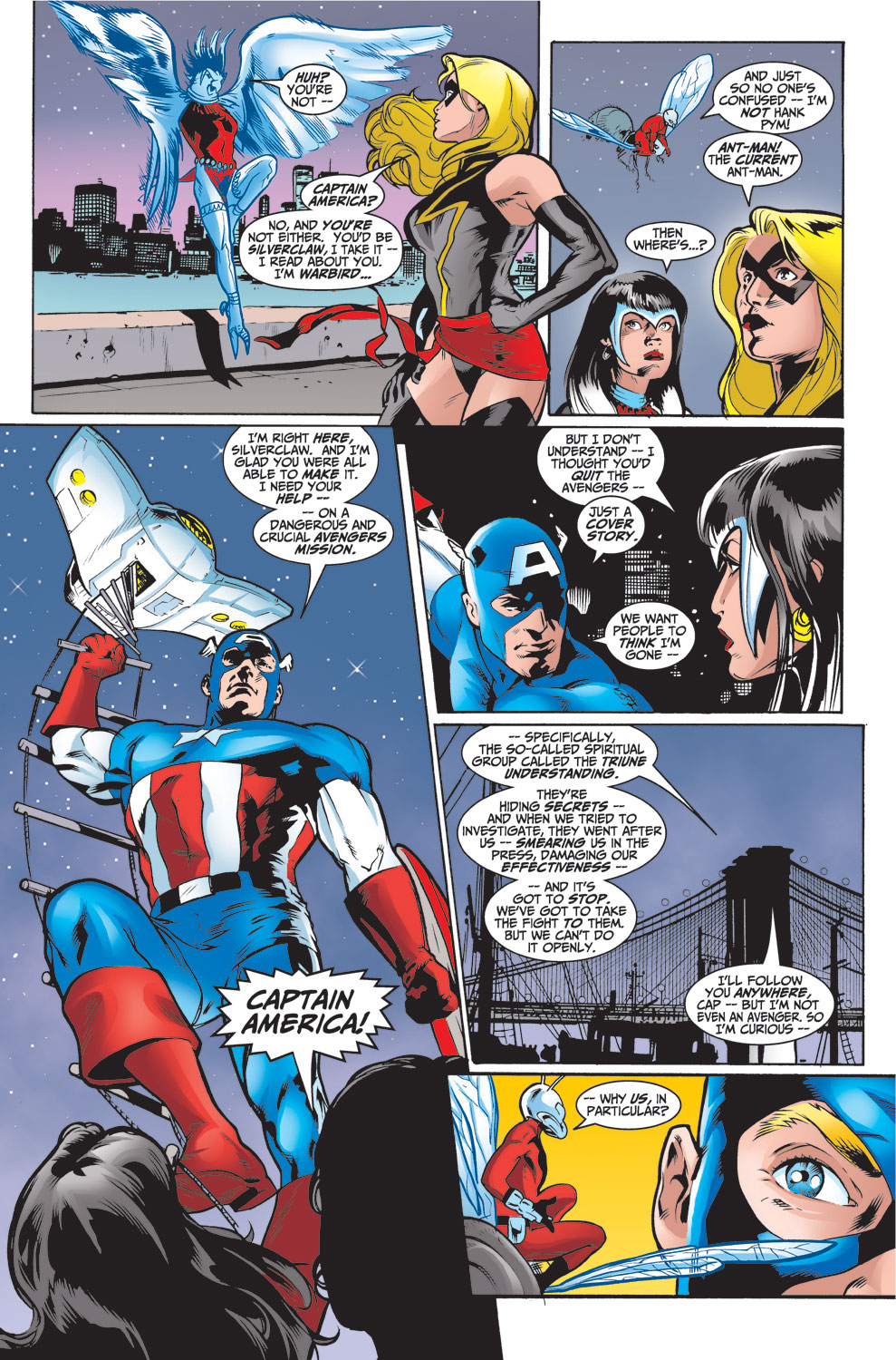 Read online Avengers (1998) comic -  Issue #26 - 7