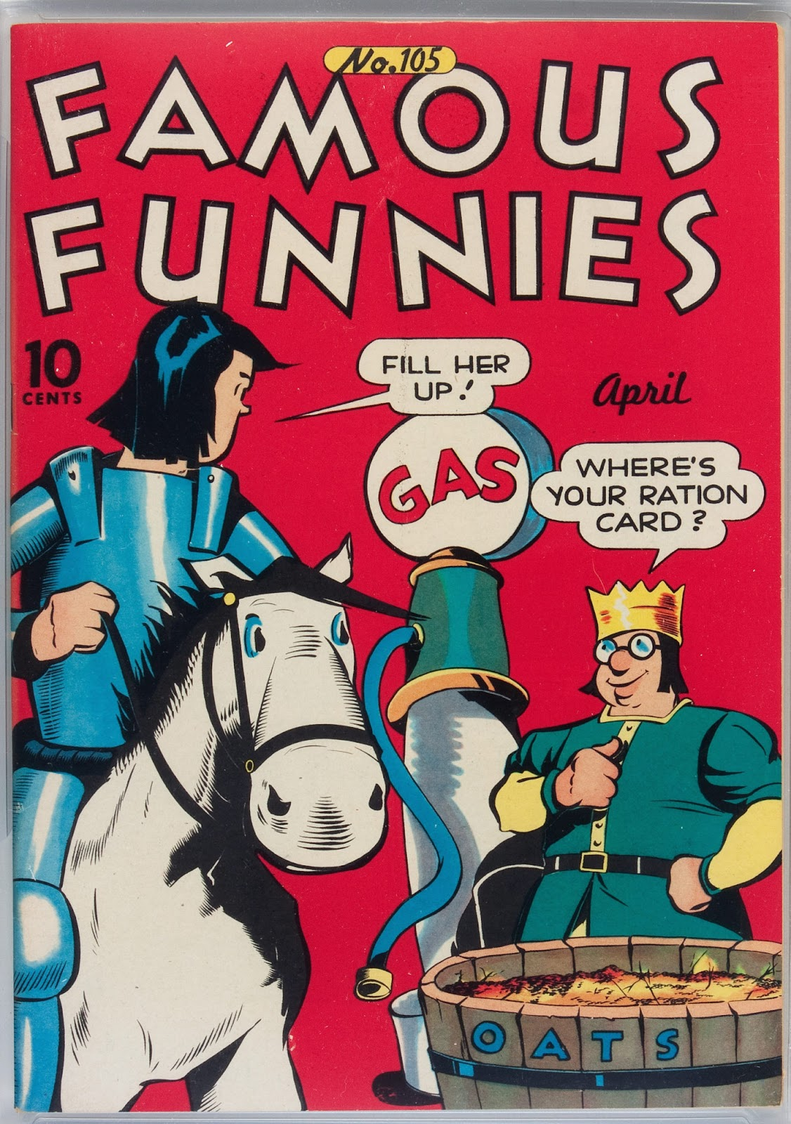 Read online Famous Funnies comic -  Issue #105 - 1