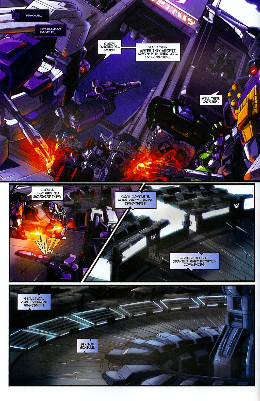 """Read online Transformers War Within: """"The Age of Wrath"""" comic -  Issue #2 - 9"""