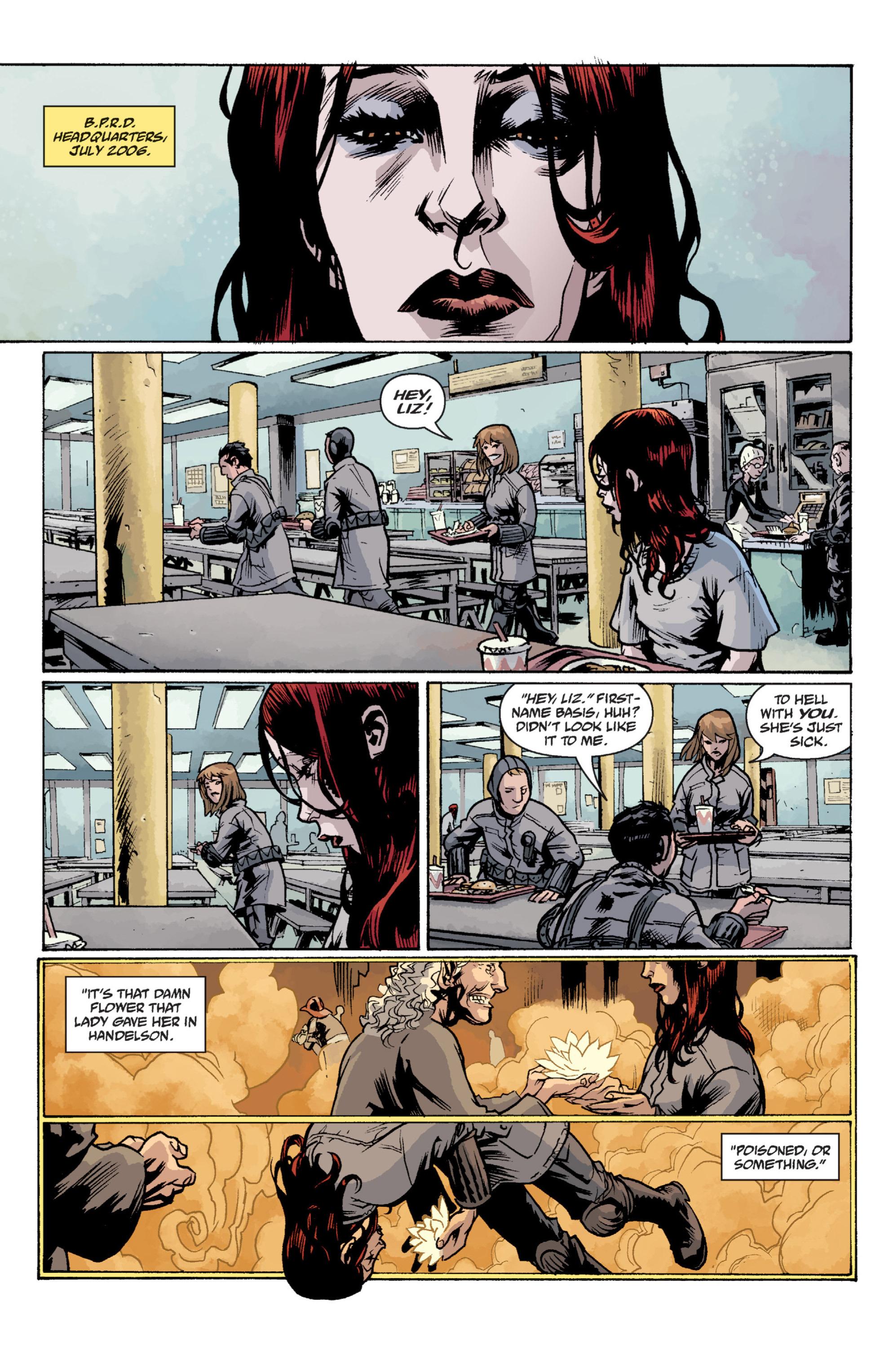 Read online B.P.R.D. (2003) comic -  Issue # TPB 12 - 107