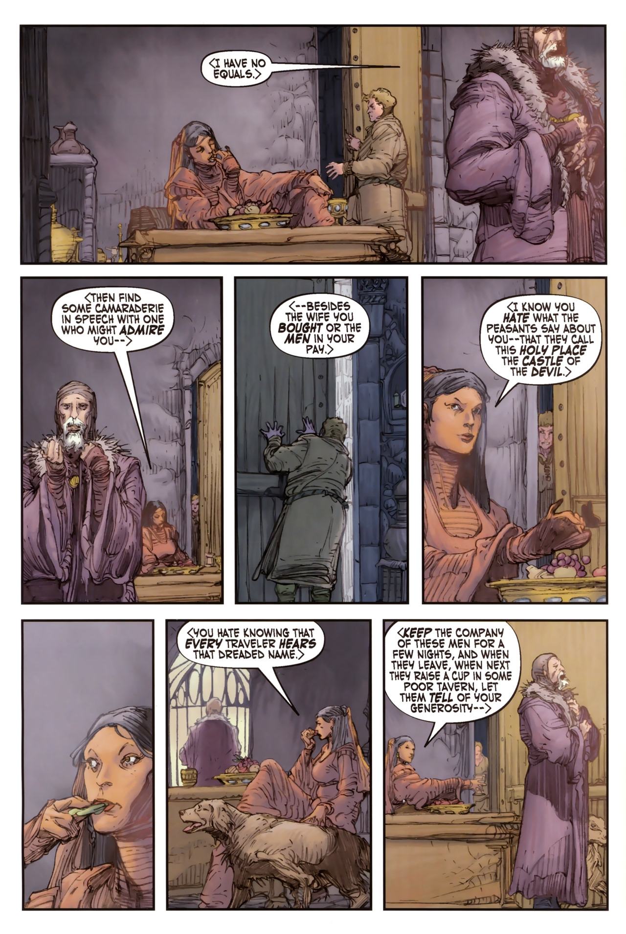 Read online Solomon Kane comic -  Issue #2 - 14