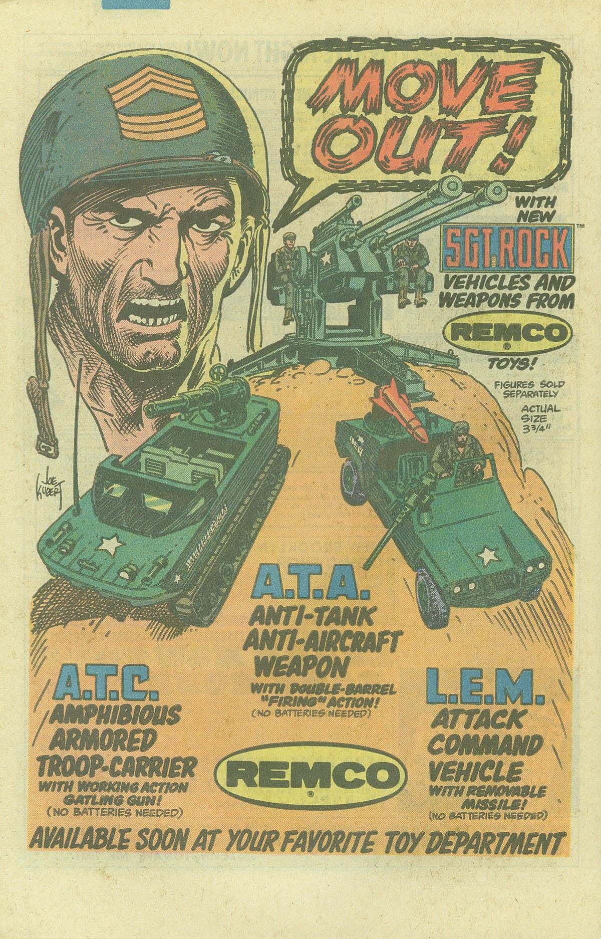 Read online Sgt. Rock comic -  Issue #378 - 29