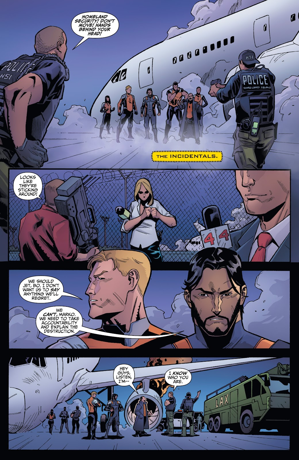Read online Incidentals comic -  Issue #18 - 6
