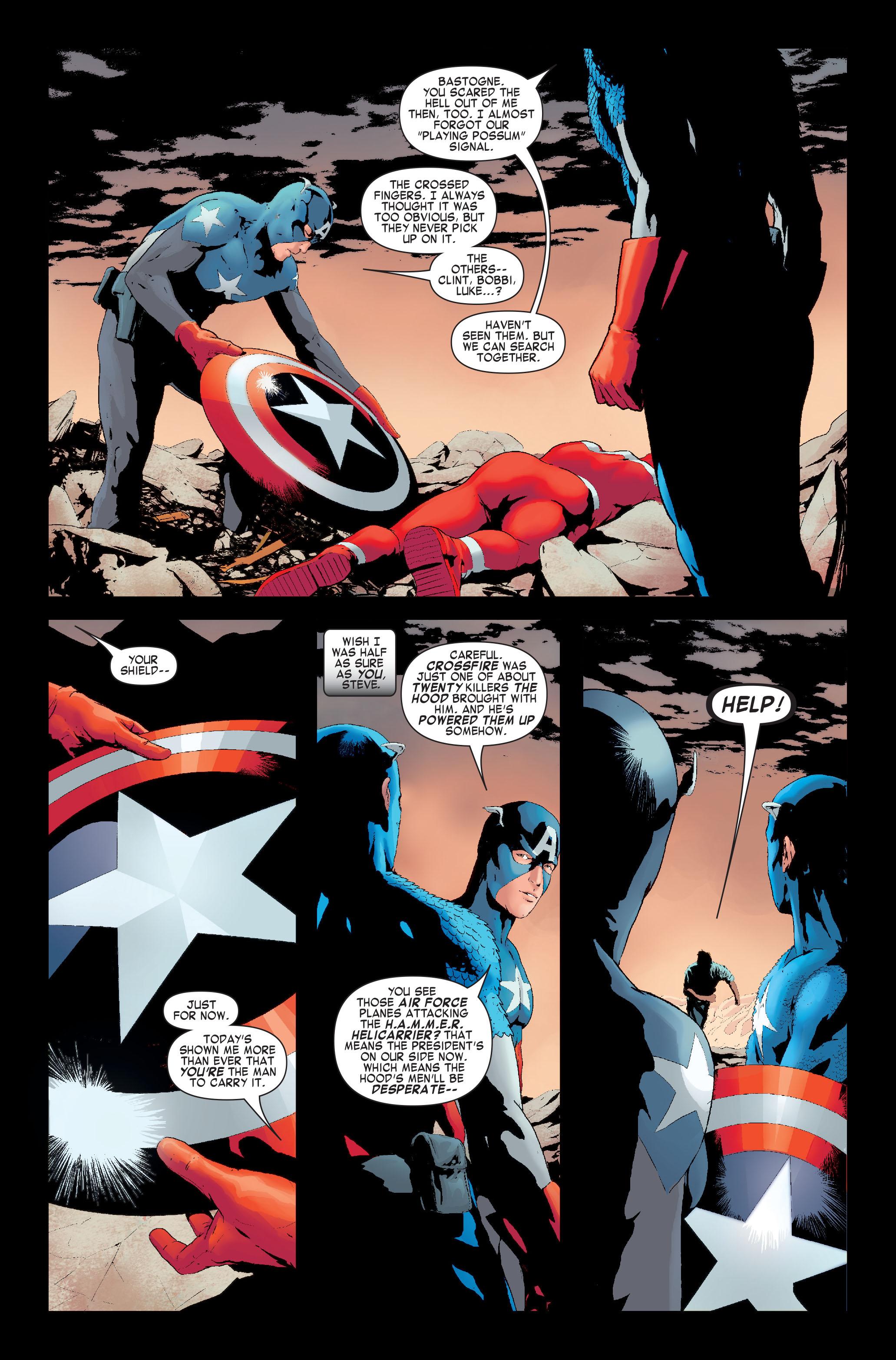 Read online Siege: Captain America comic -  Issue # Full - 10
