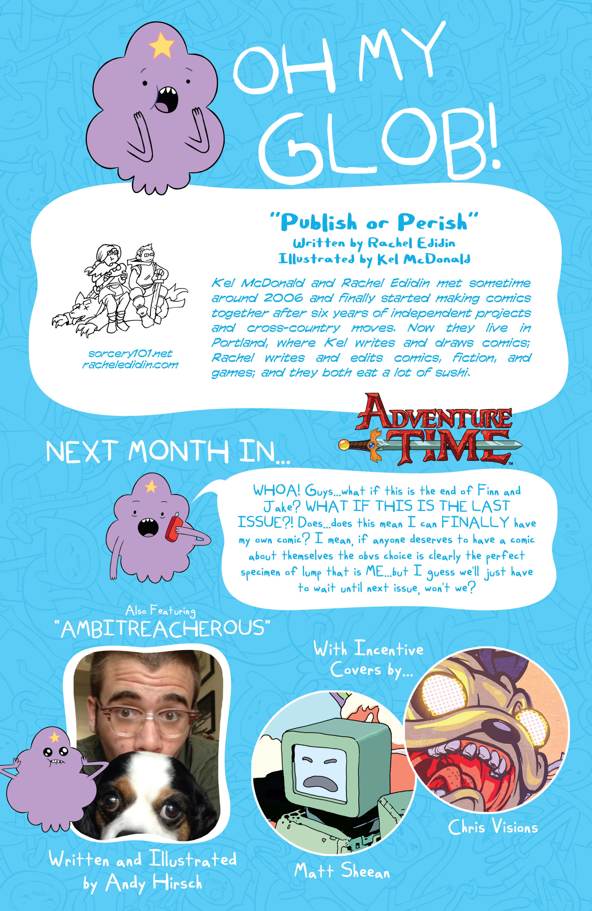 Read online Adventure Time comic -  Issue #18 - 29