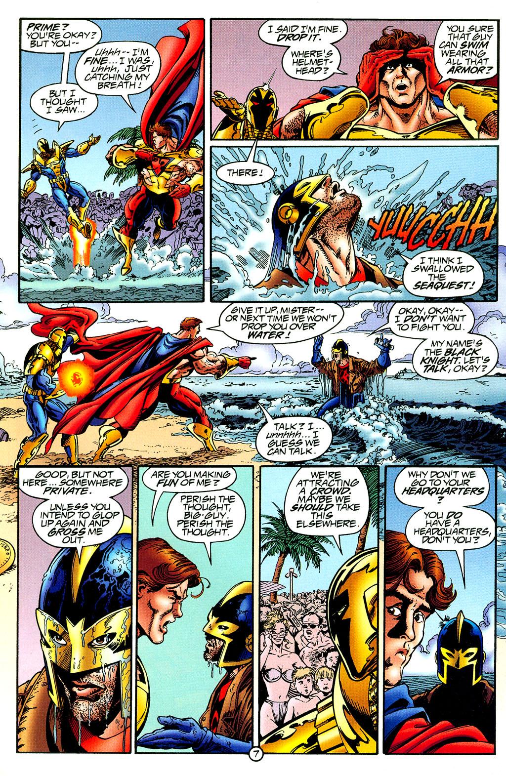 Read online UltraForce (1994) comic -  Issue #8 - 7