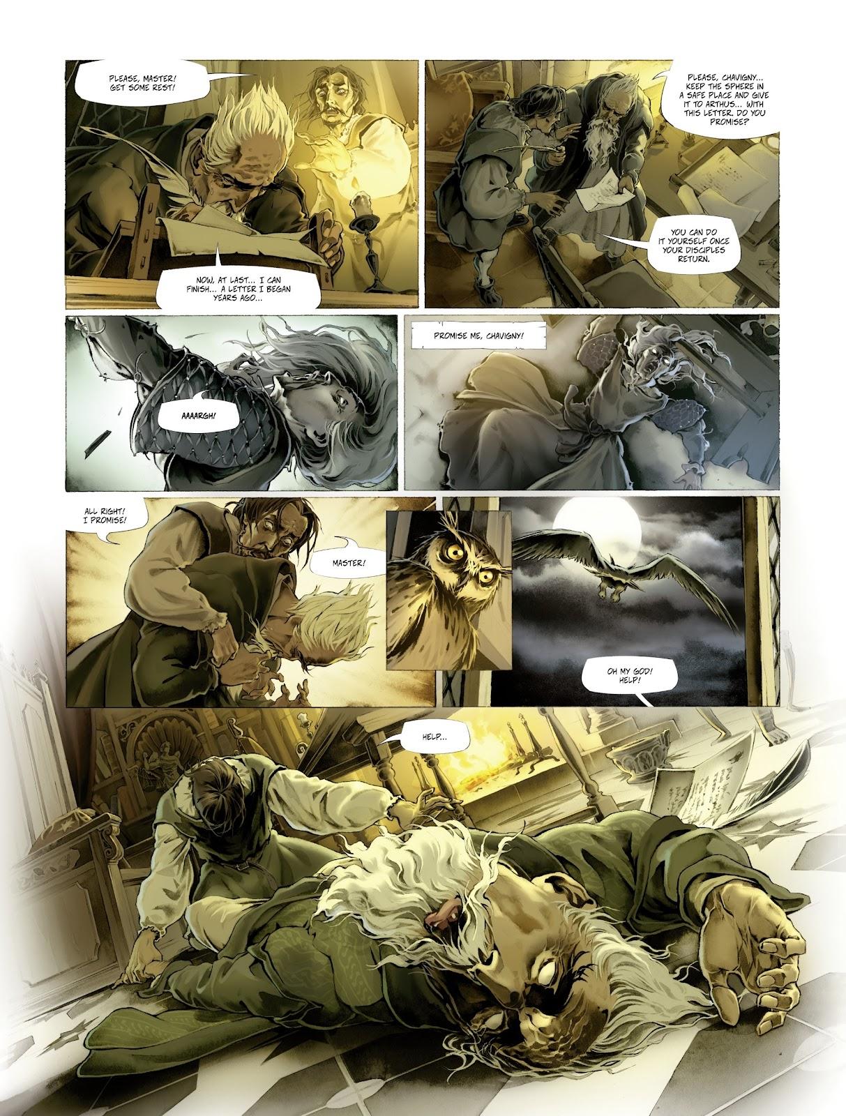 Read online Arthus Trivium comic -  Issue #4 - 50