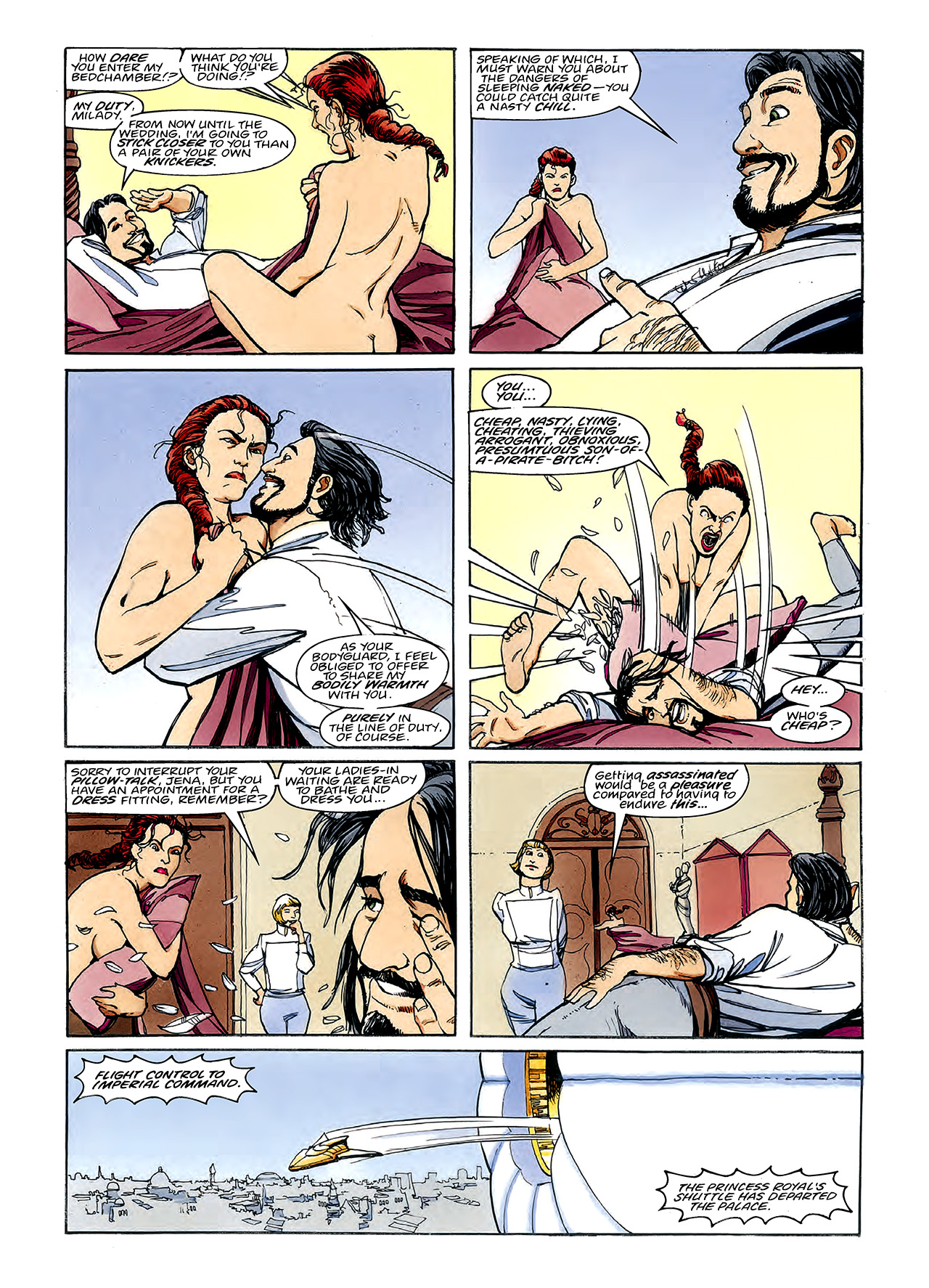 Read online Nikolai Dante comic -  Issue # TPB 3 - 67