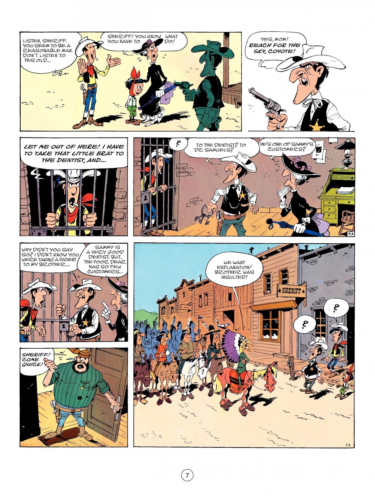 Read online A Lucky Luke Adventure comic -  Issue #50 - 7