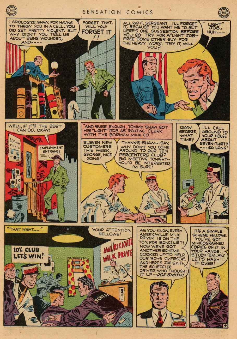 Read online Sensation (Mystery) Comics comic -  Issue #36 - 20