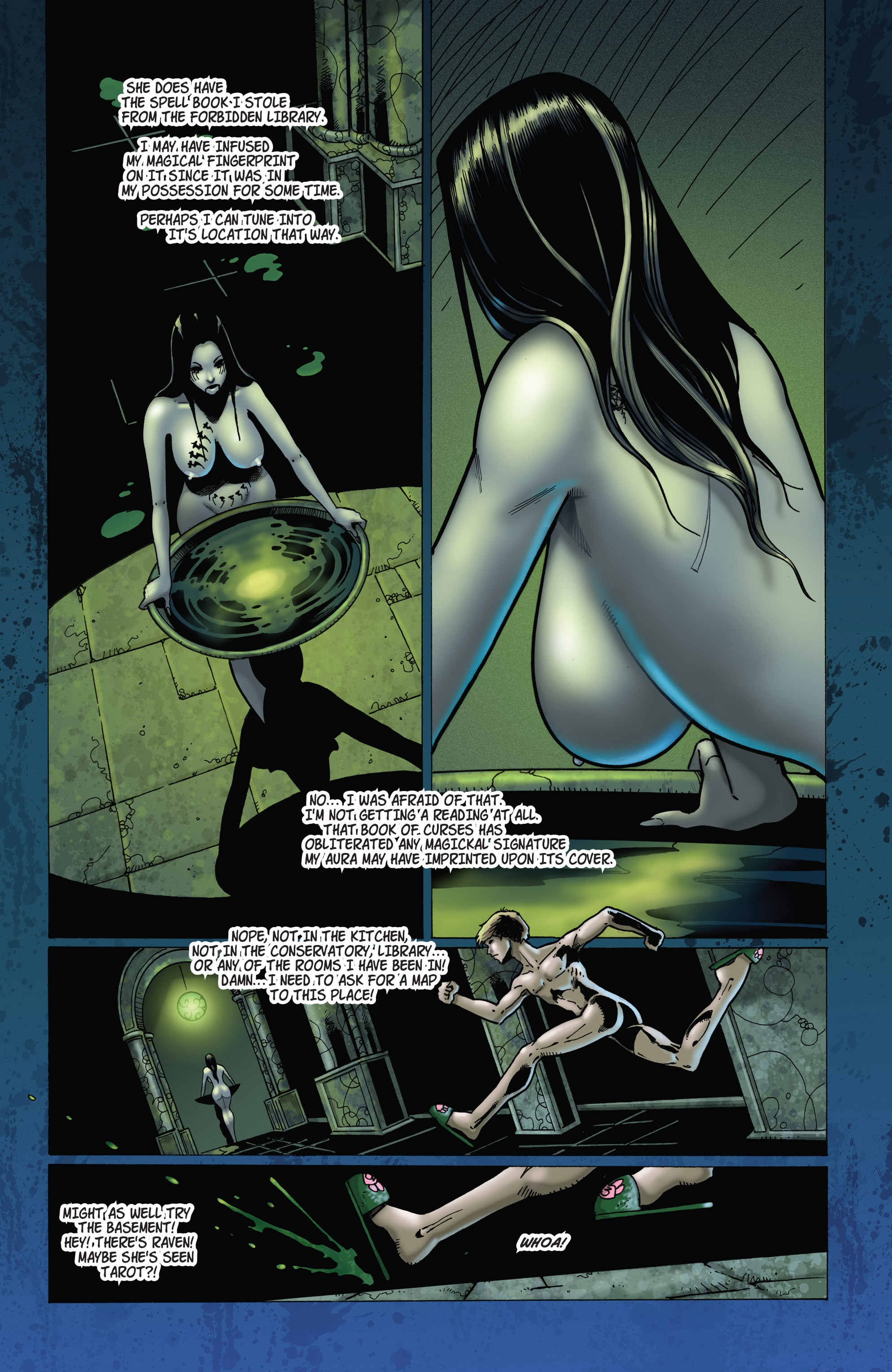 Read online Tarot: Witch of the Black Rose comic -  Issue #103 - 10