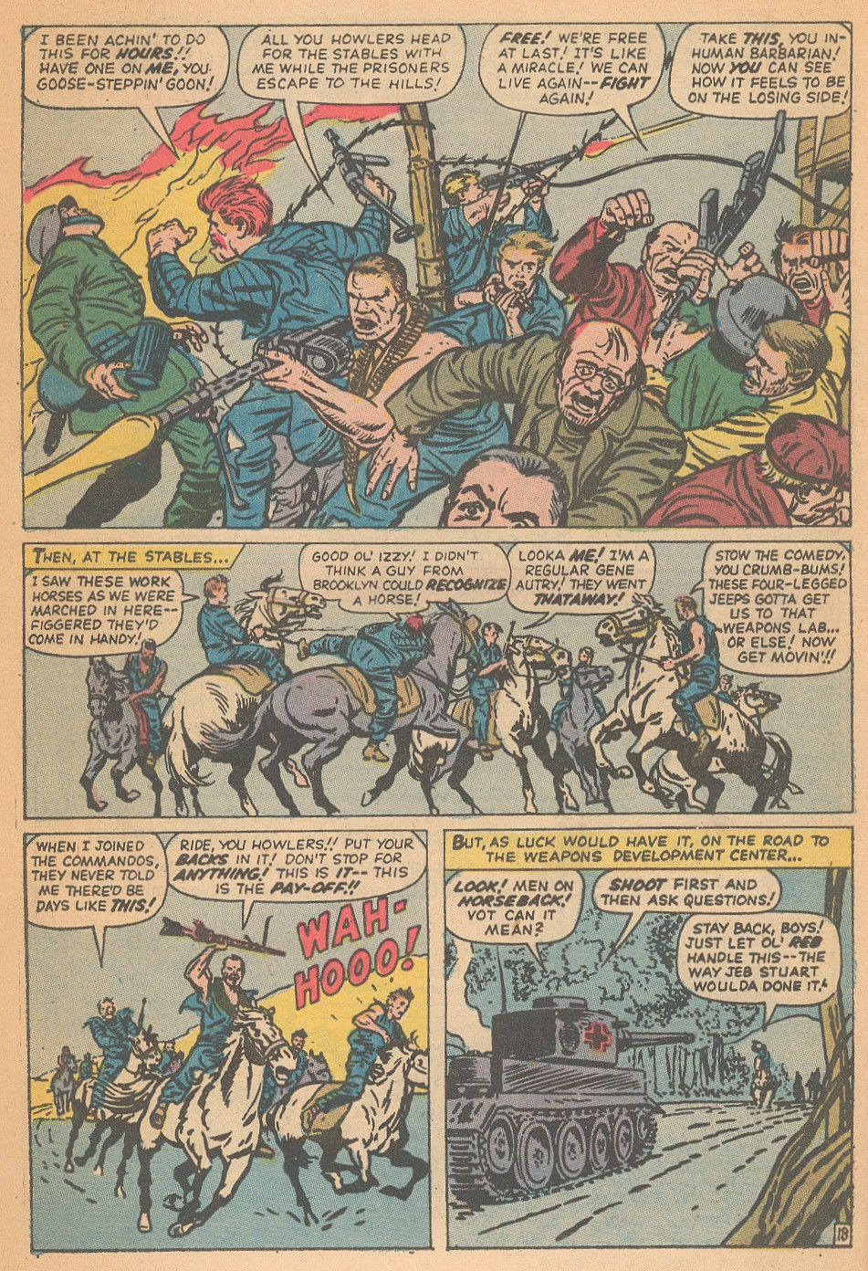 Read online Sgt. Fury comic -  Issue #95 - 26