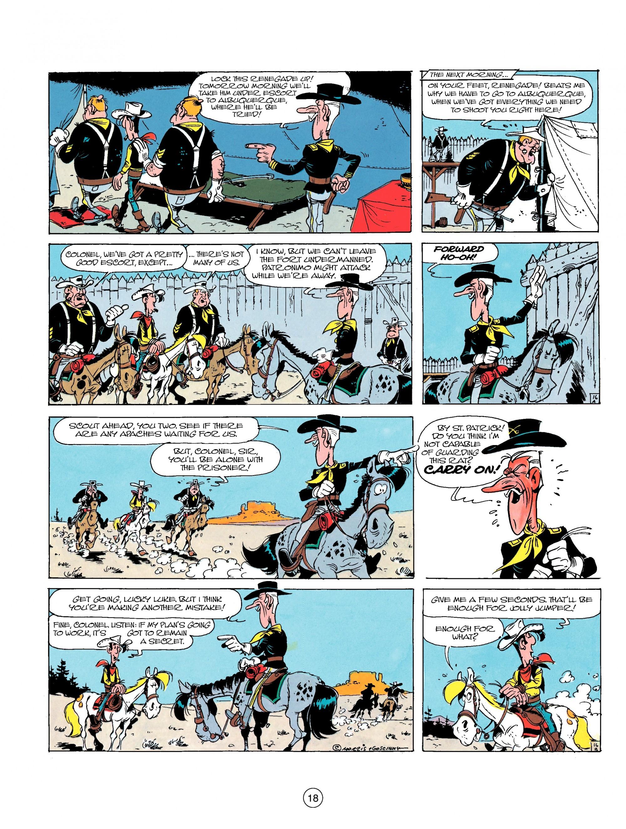 Read online A Lucky Luke Adventure comic -  Issue #17 - 18