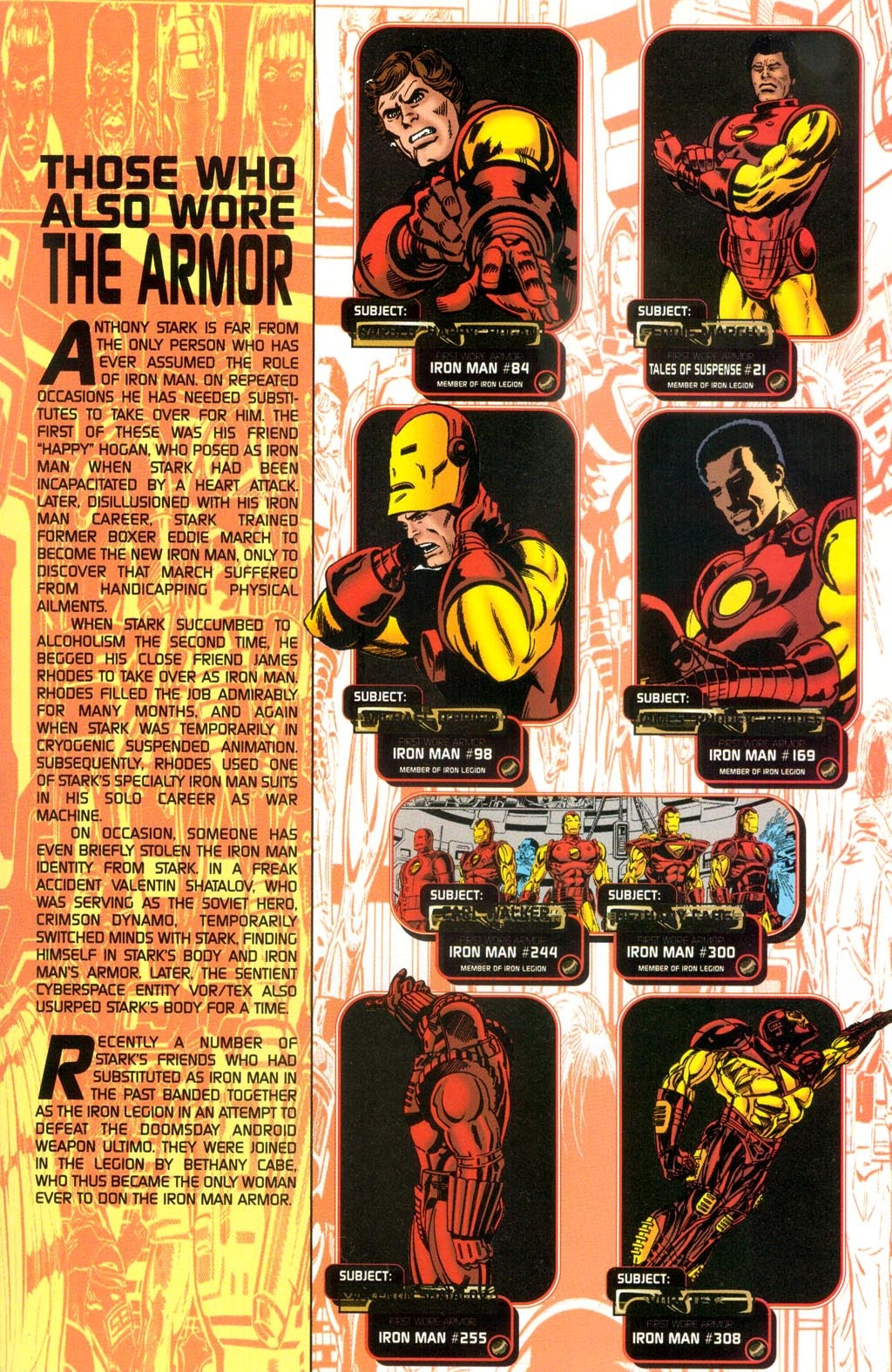 Read online Iron Man: The Legend comic -  Issue # Full - 42