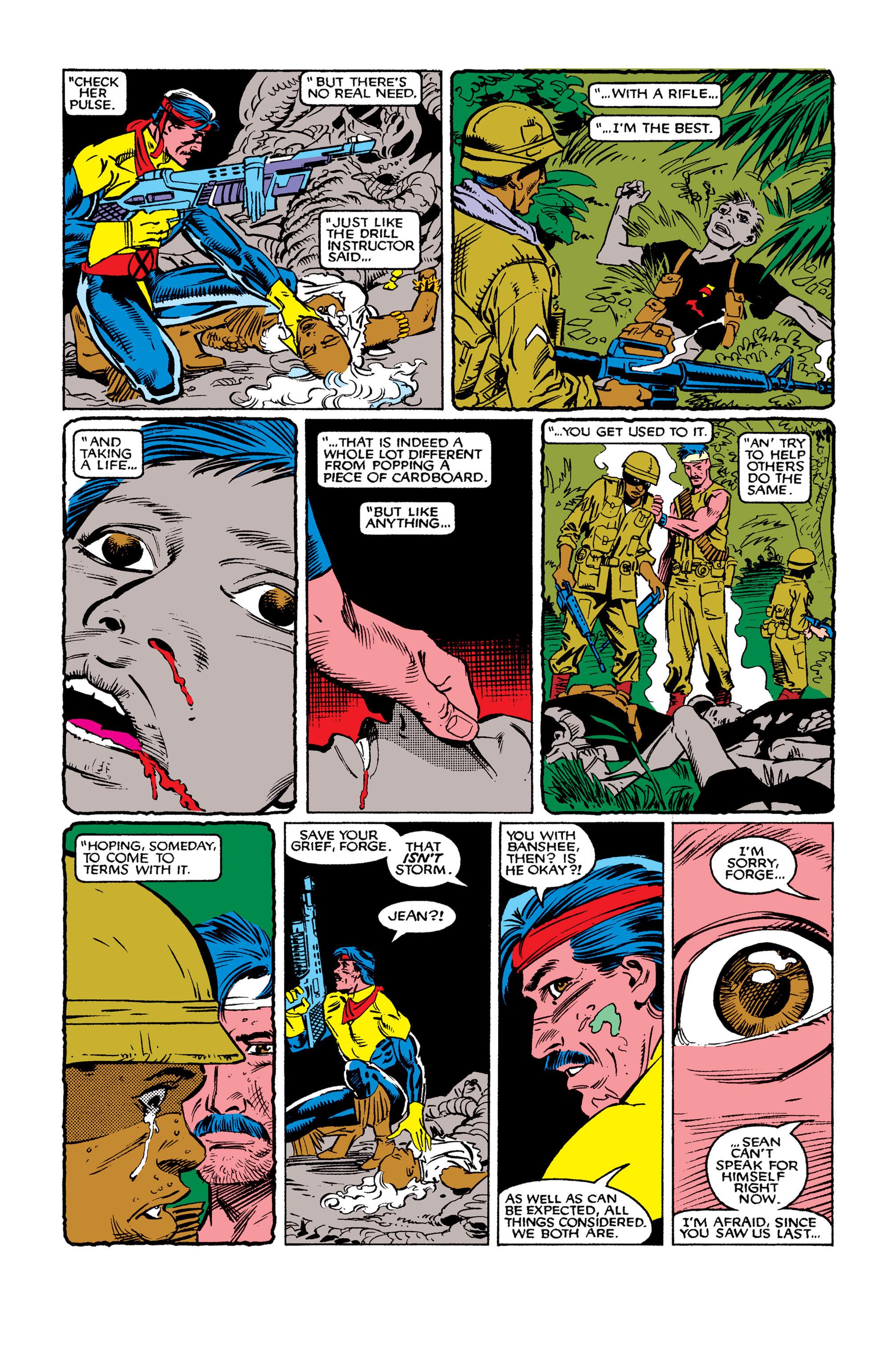 Read online Uncanny X-Men (1963) comic -  Issue #262 - 23
