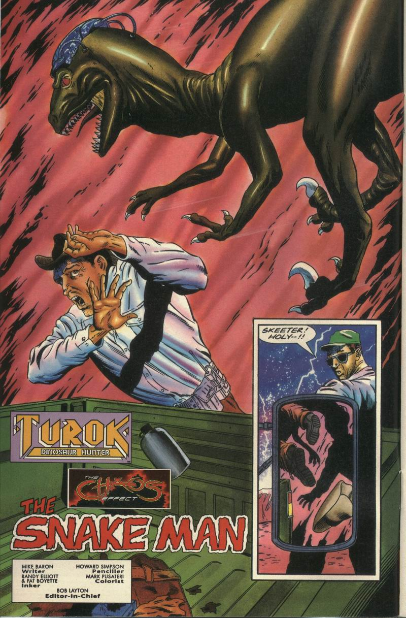 Read online Turok, Dinosaur Hunter (1993) comic -  Issue #16 - 3