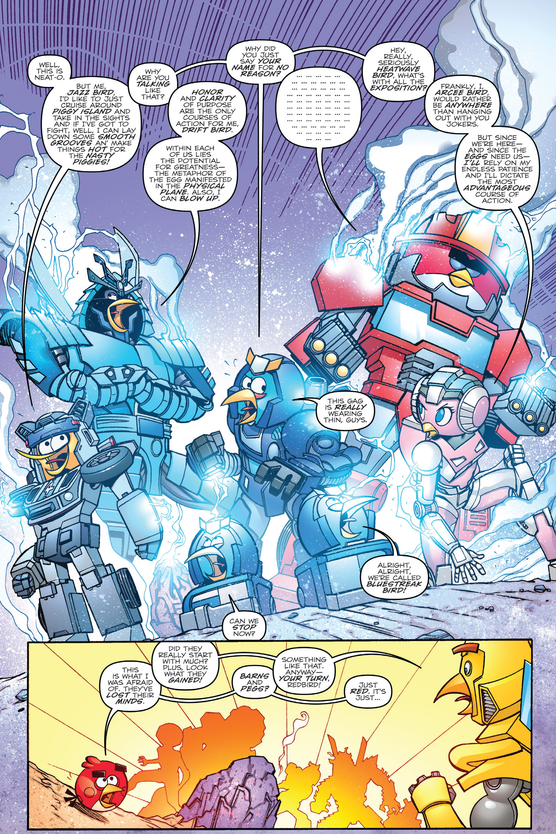 Read online Angry Birds Transformers: Age of Eggstinction comic -  Issue # Full - 33