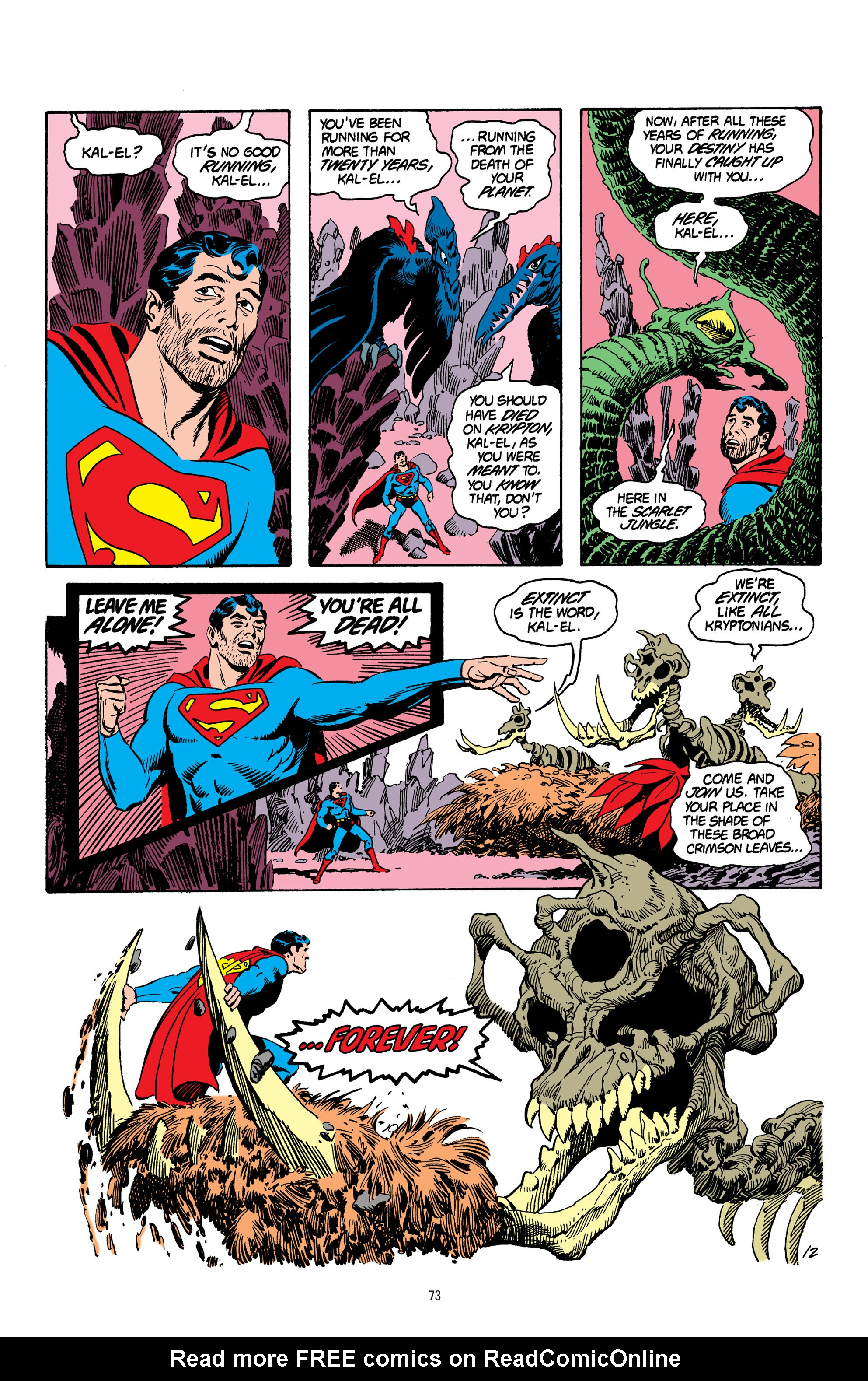 Read online Superman: Whatever Happened to the Man of Tomorrow? comic -  Issue # TPB - 72