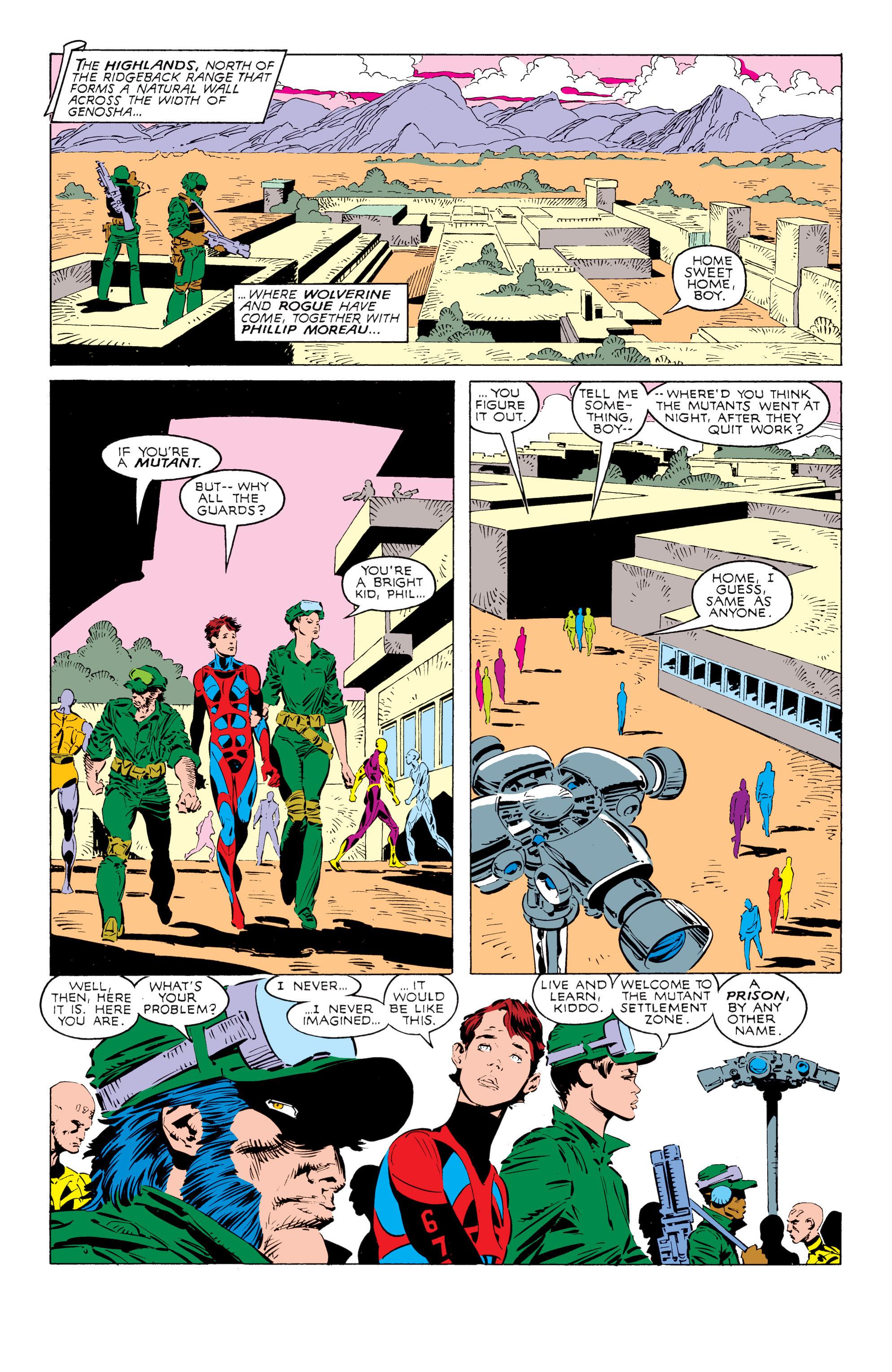 Read online Uncanny X-Men (1963) comic -  Issue #238 - 9