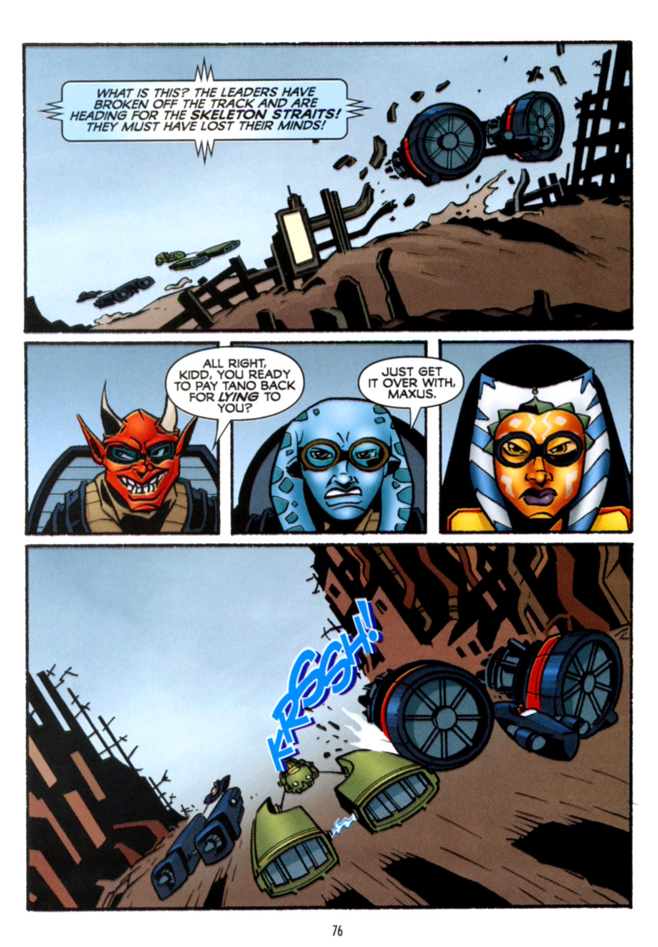 Read online Star Wars: The Clone Wars - Crash Course comic -  Issue # Full - 77