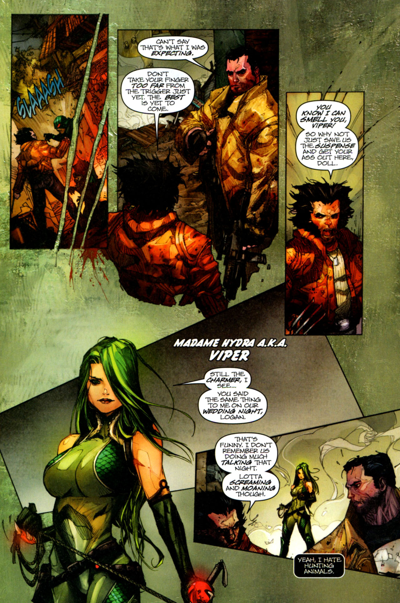 Read online Astonishing Tales (2009) comic -  Issue #1 - 9
