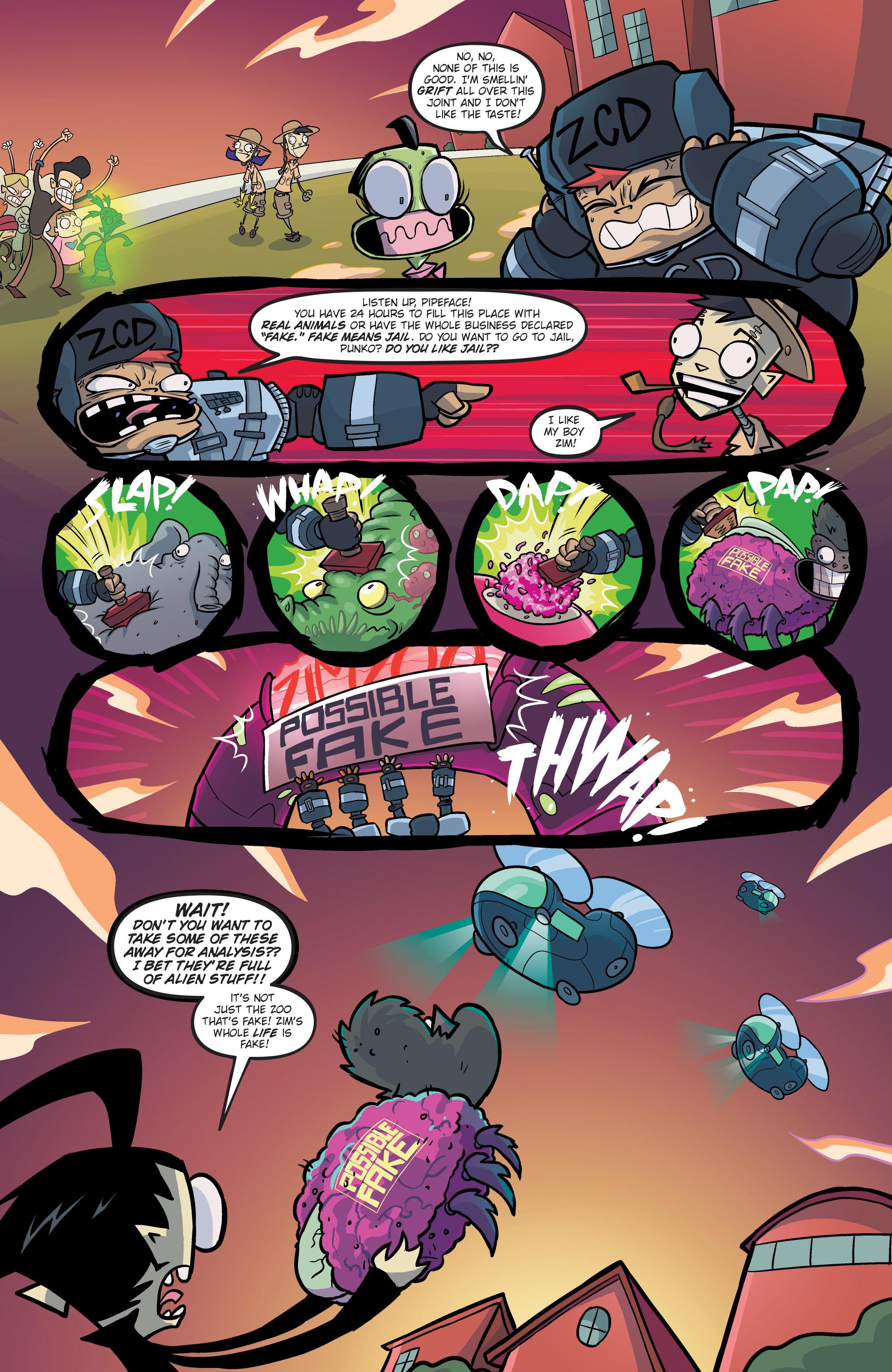 Read online Invader Zim comic -  Issue #19 - 16