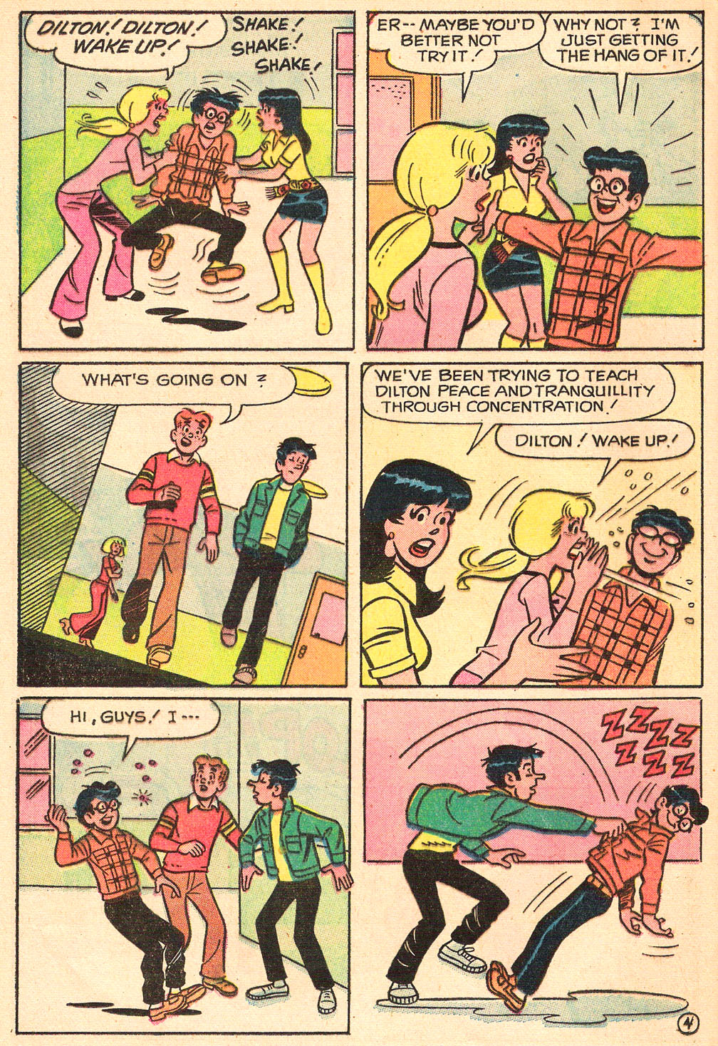 Read online Archie's Girls Betty and Veronica comic -  Issue #208 - 16