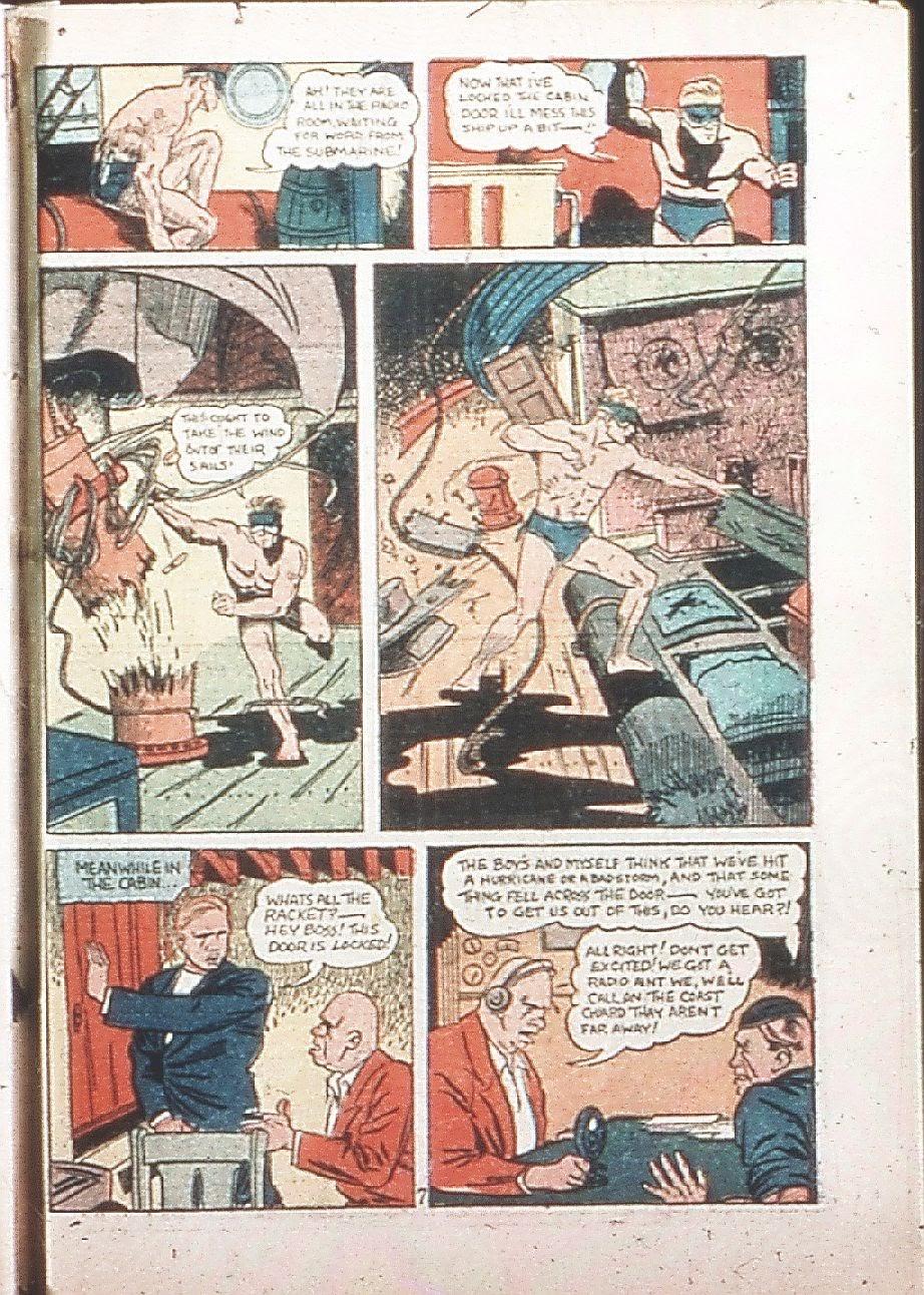 Read online Amazing Man Comics comic -  Issue #9 - 66