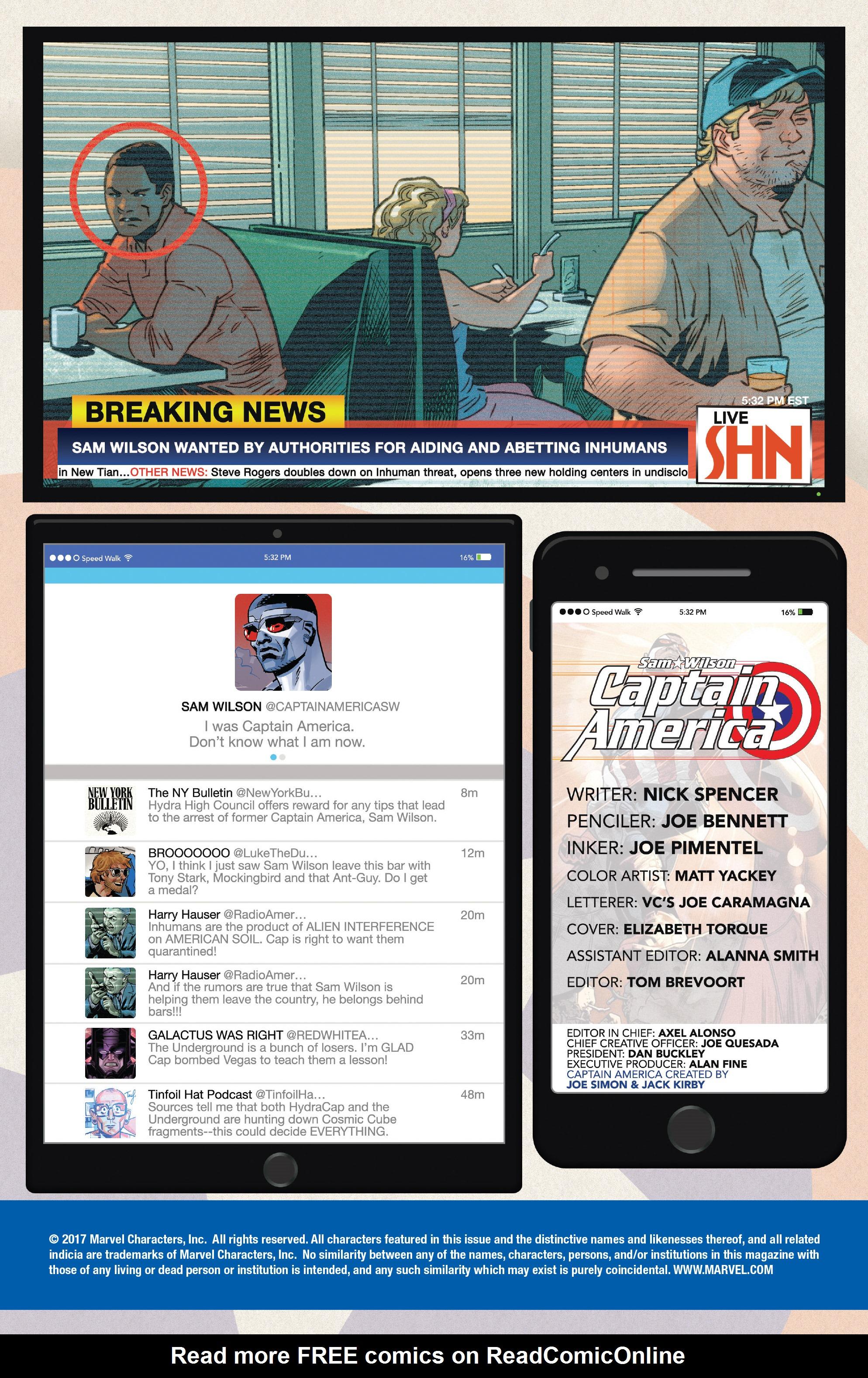 Read online Captain America: Sam Wilson comic -  Issue #23 - 2