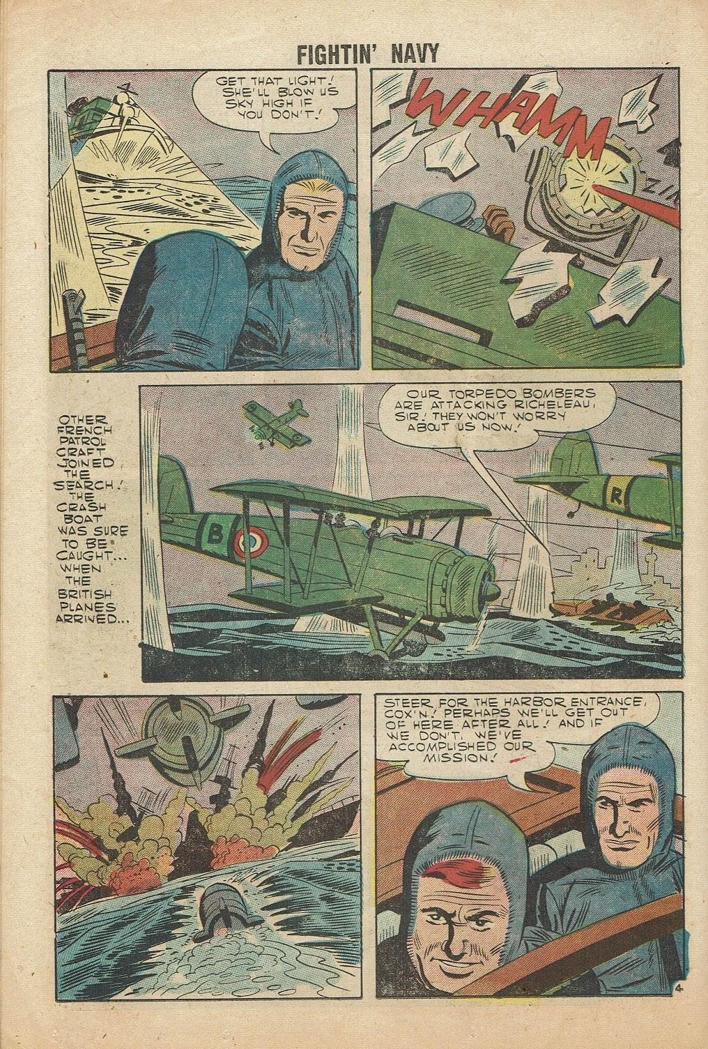 Read online Fightin' Navy comic -  Issue #81 - 26