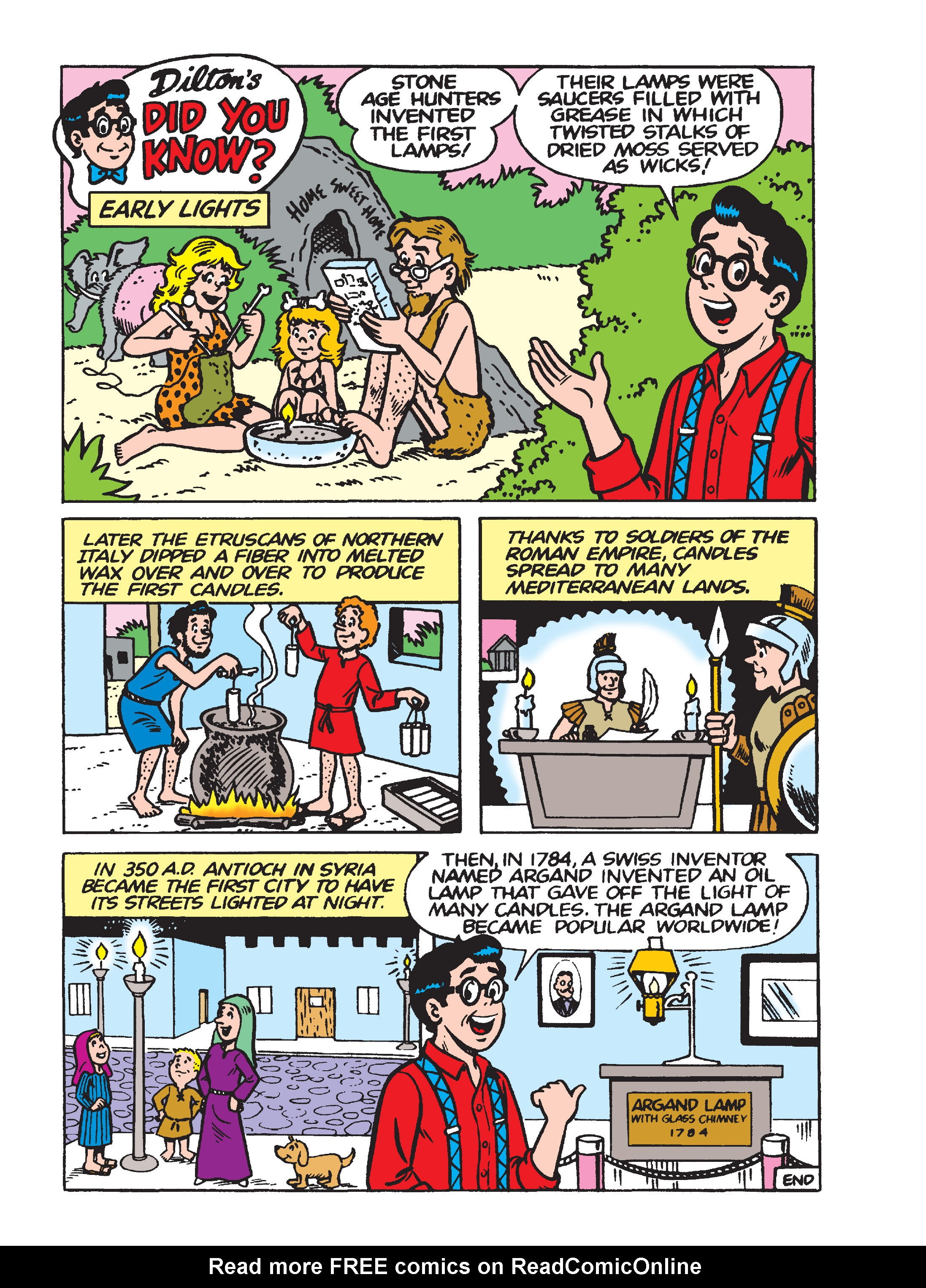 Read online Archie's Funhouse Double Digest comic -  Issue #15 - 246