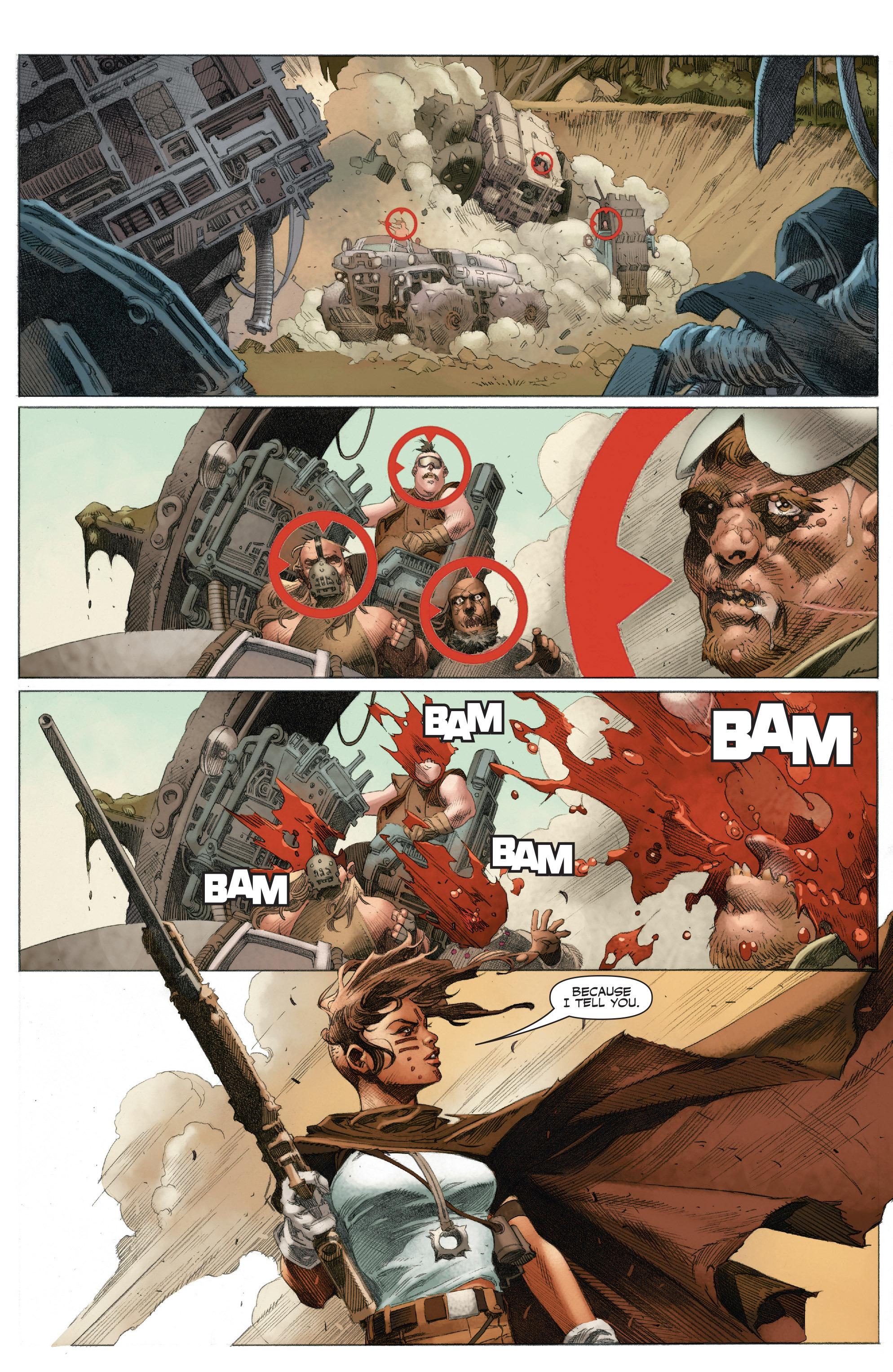 Read online 4001 A.D.: War Mother comic -  Issue #4001 A.D.: War Mother Full - 11