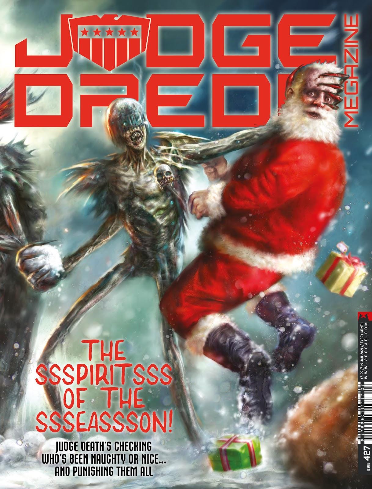 Judge Dredd Megazine (Vol. 5) issue 427 - Page 1