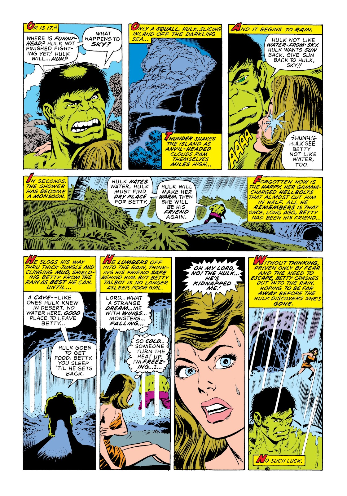 Read online Marvel Masterworks: The Incredible Hulk comic -  Issue # TPB 9 (Part 3) - 80