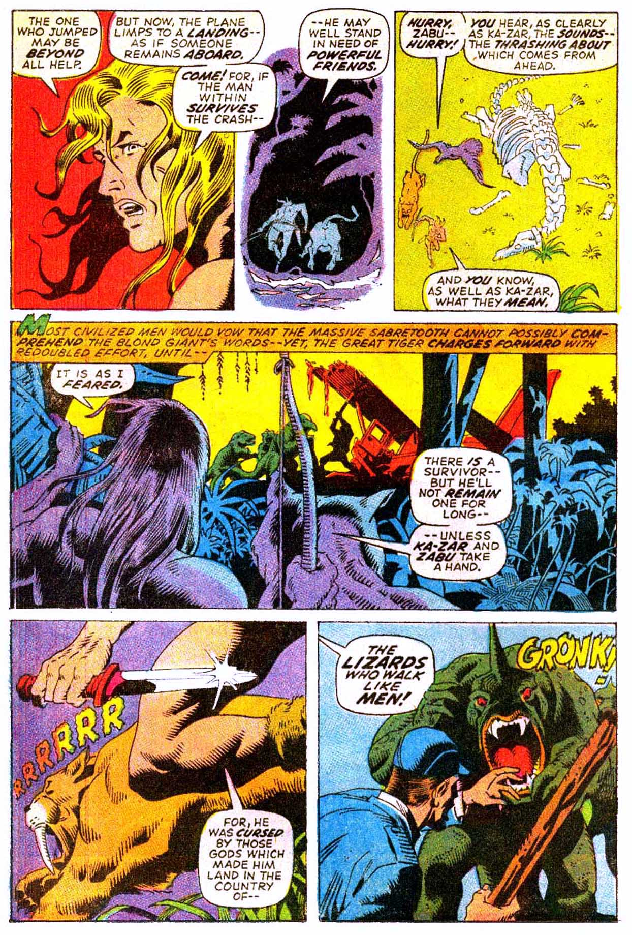 Astonishing Tales (1970) 8 Page 3