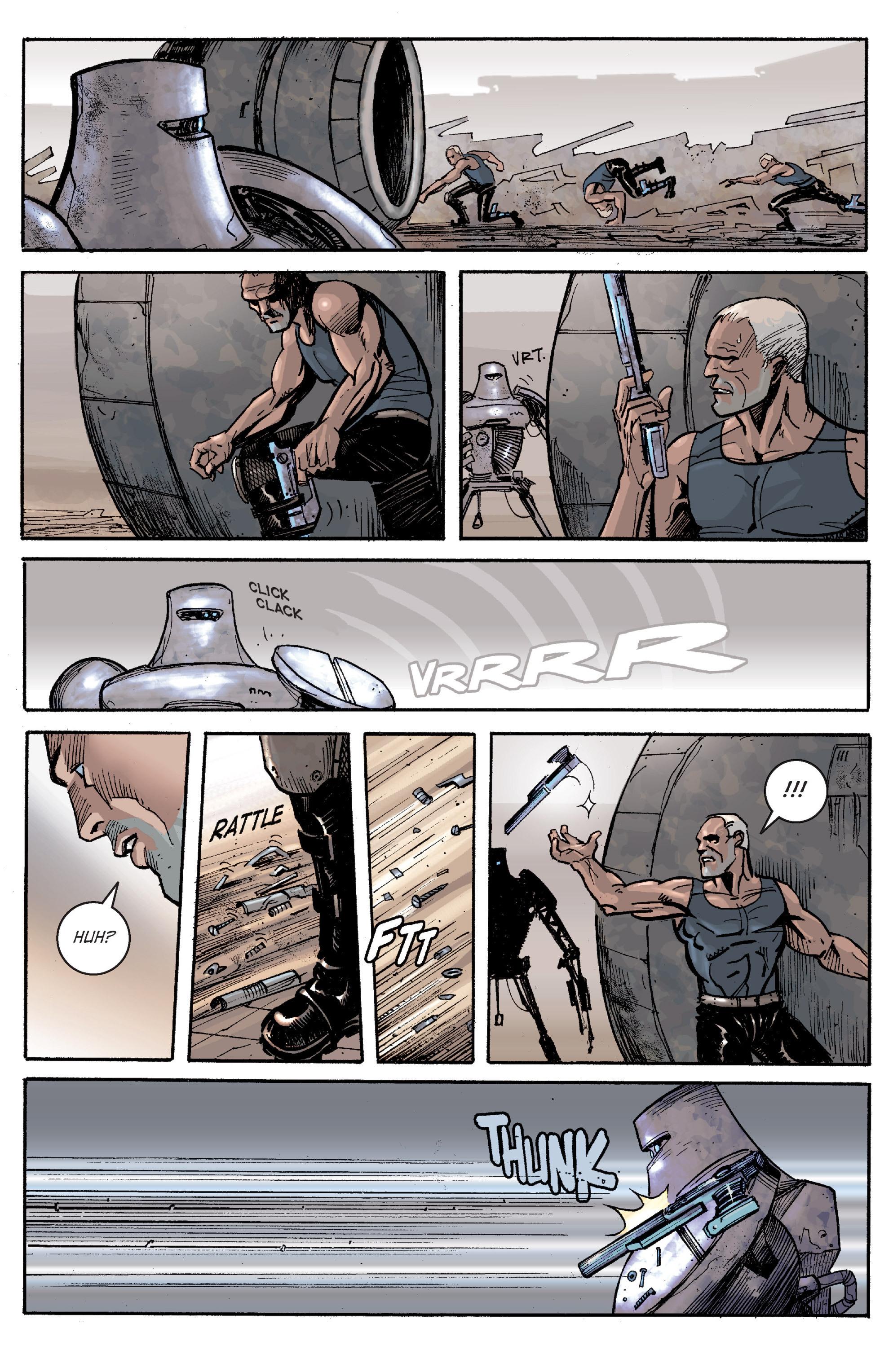 Read online Planetoid comic -  Issue # TPB - 115