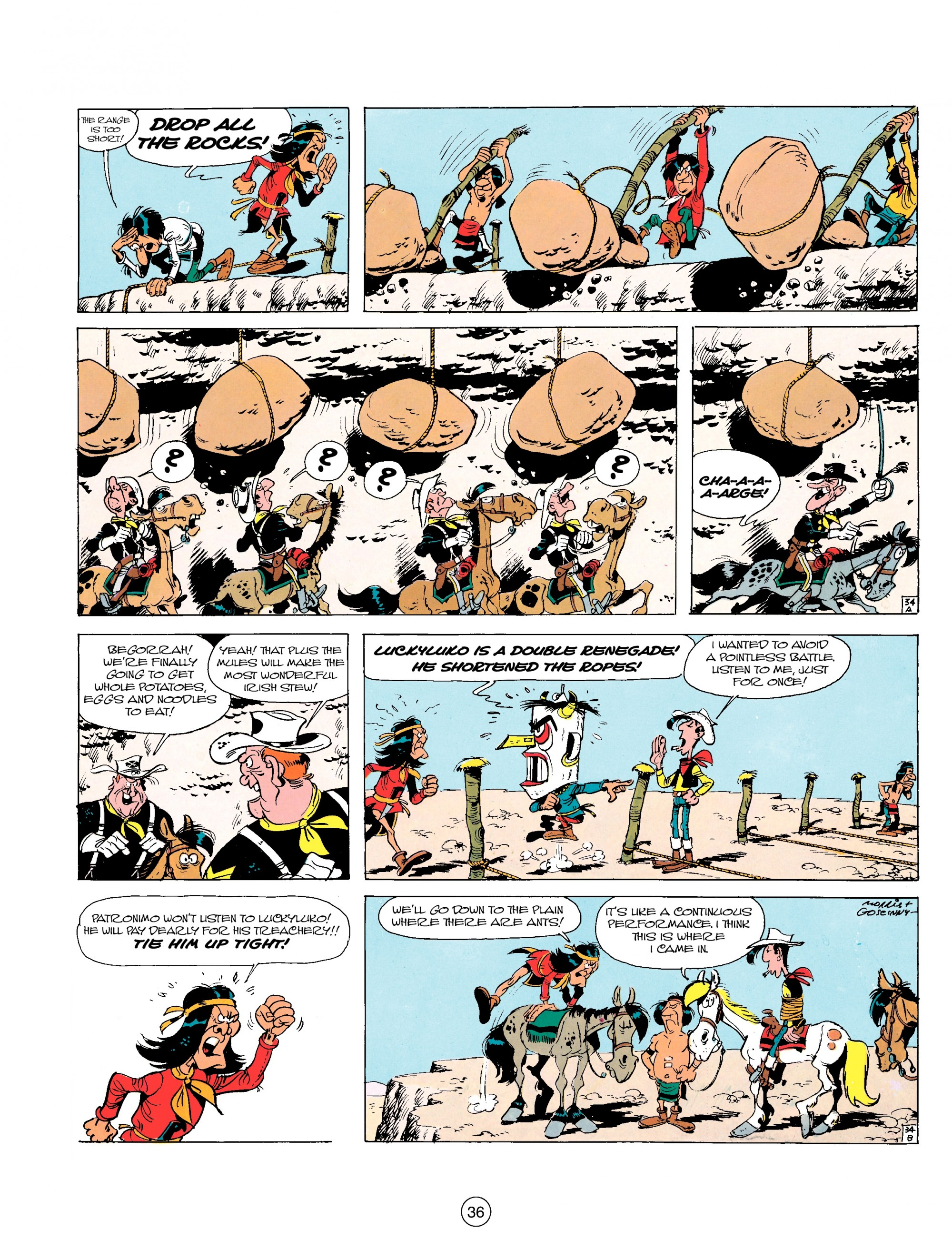 Read online A Lucky Luke Adventure comic -  Issue #17 - 36