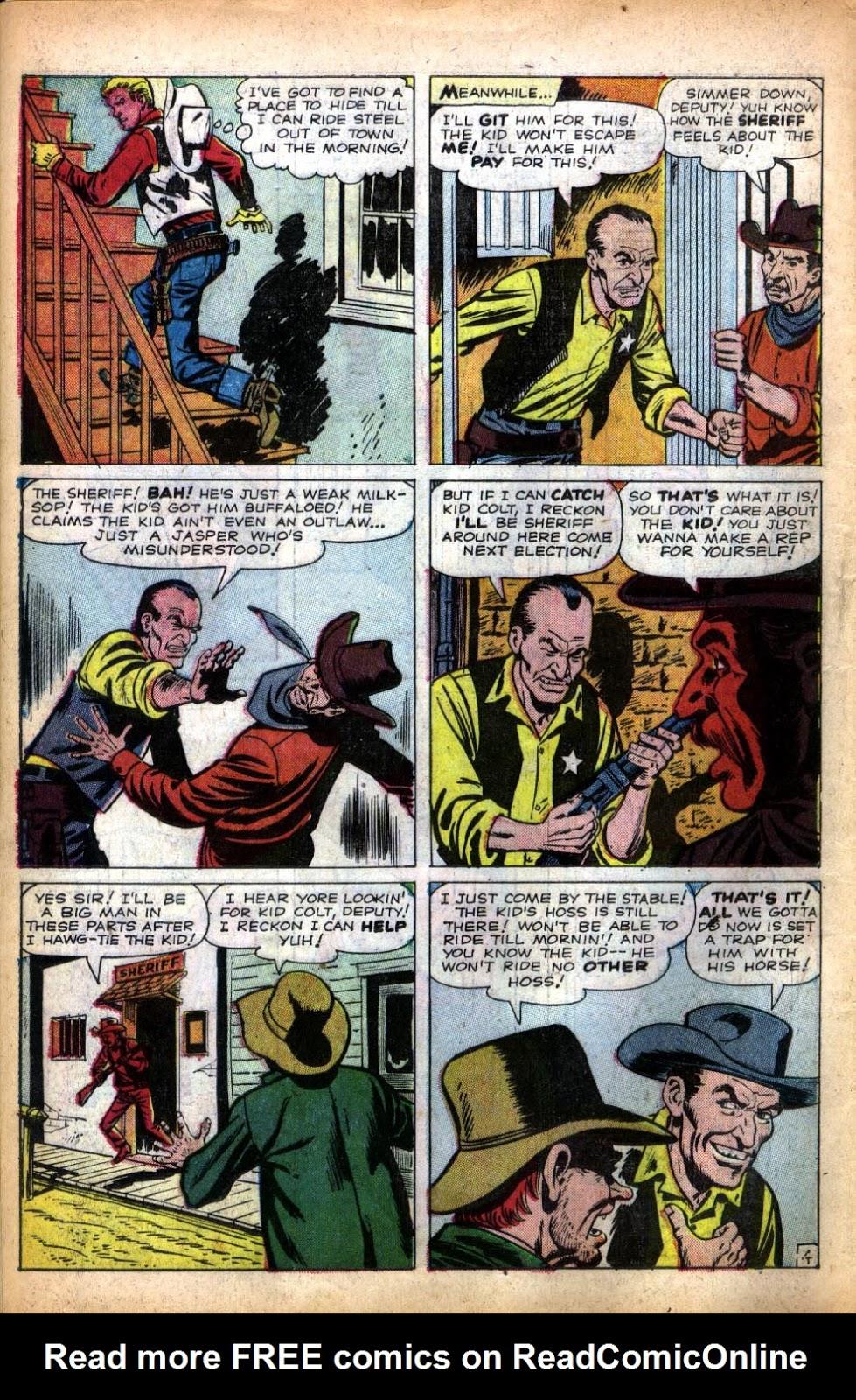 Gunsmoke Western issue 66 - Page 6